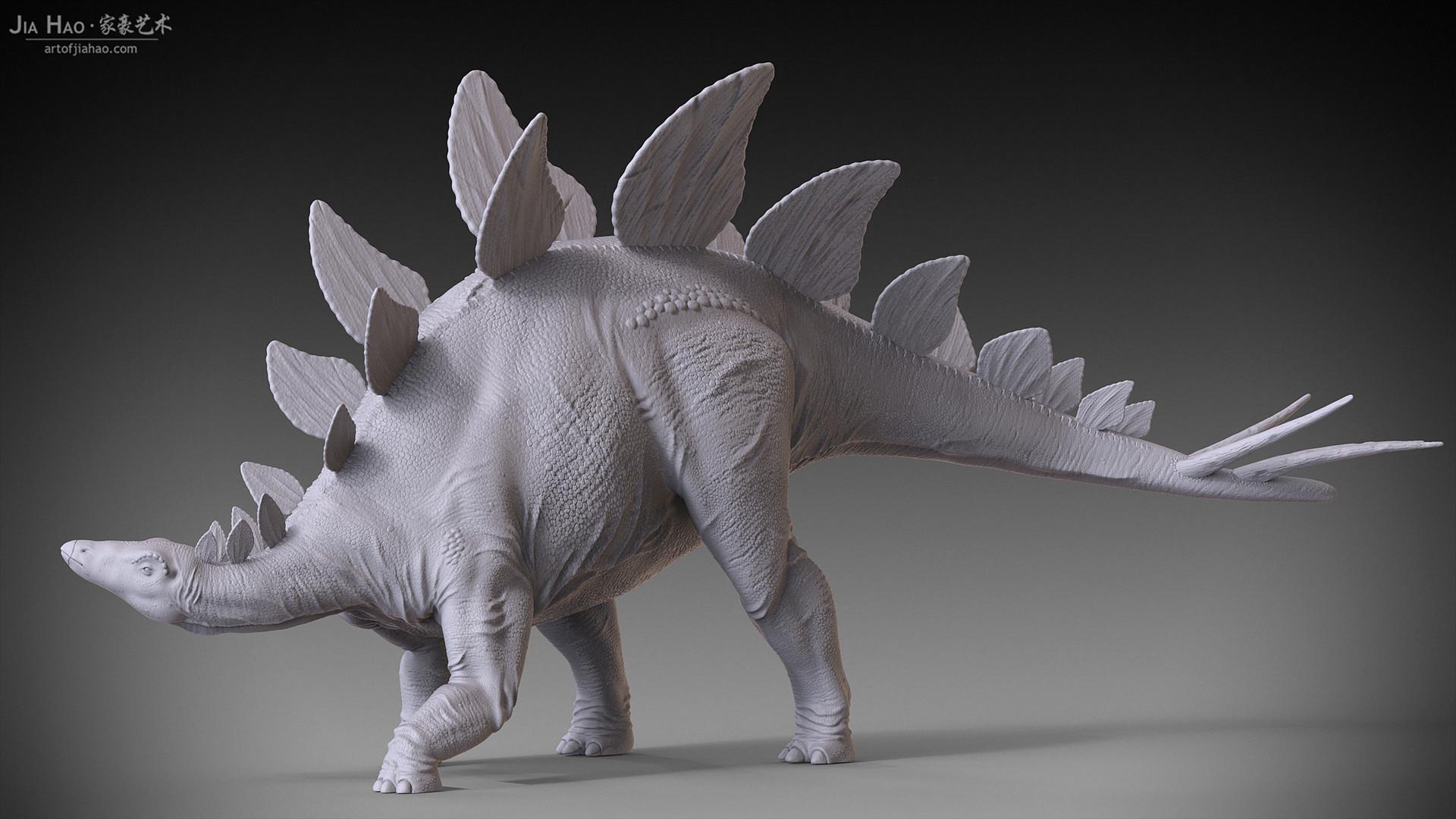Jia hao stegosaurus 03
