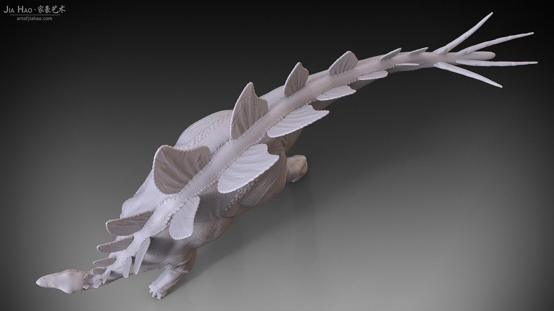 Jia hao stegosaurus 04