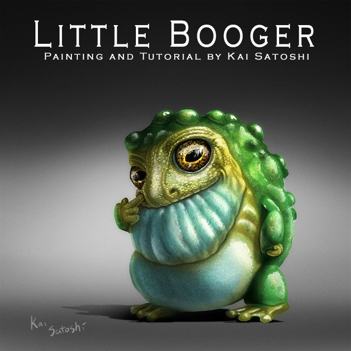 Kai satoshi little booger small