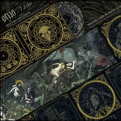 Fabio listrani otus 7 83hz album artwork overview by fabiolistrani