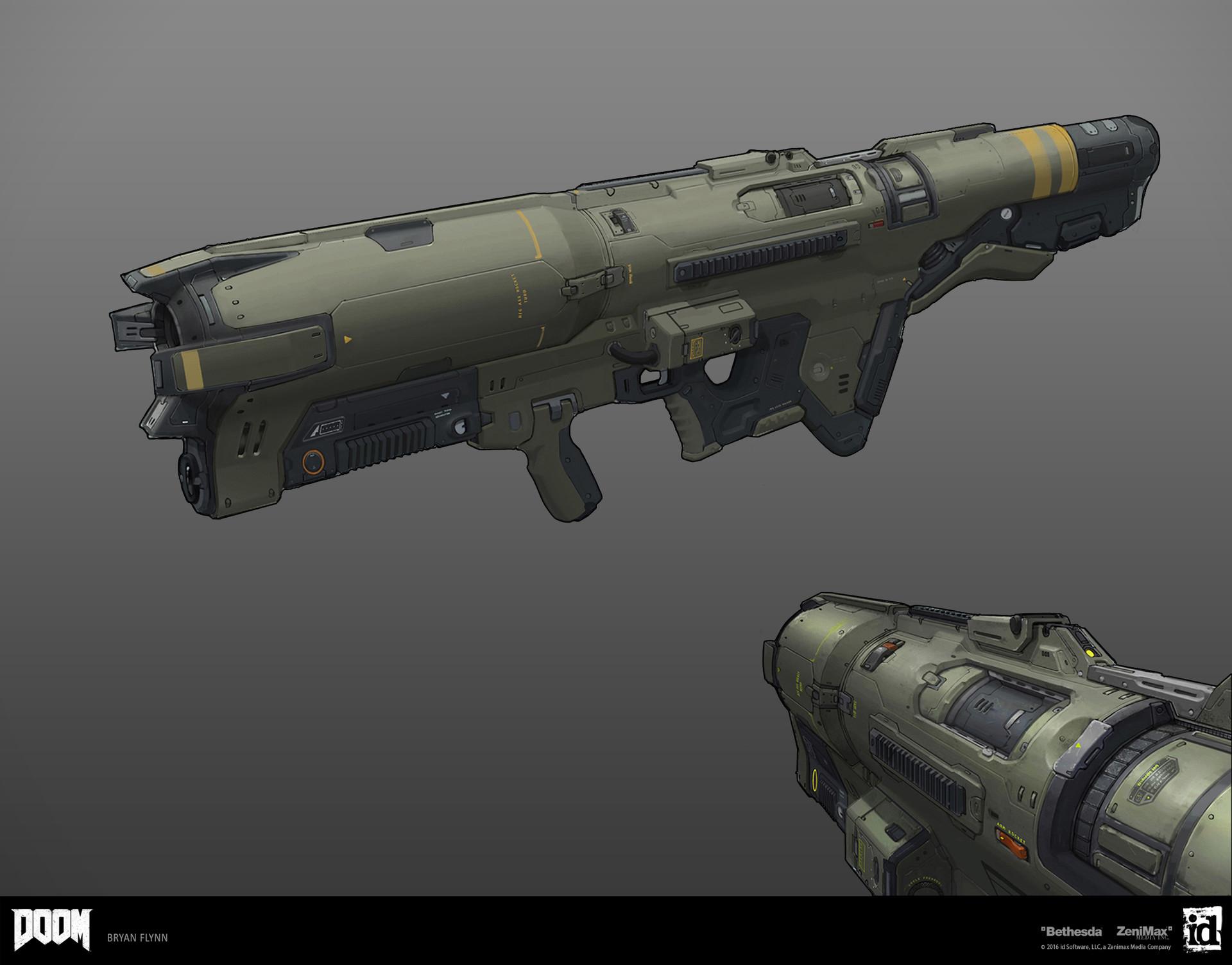 ArtStation - Rocket Launcher, Bryan Flynn