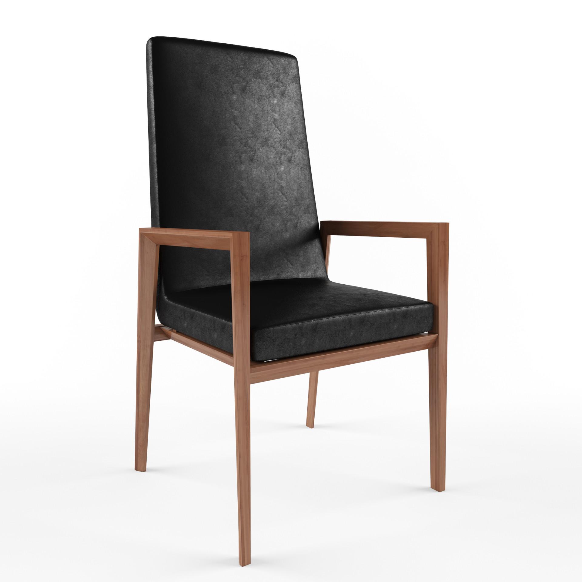 Pawel oleskow wizualizacja krzesla 1