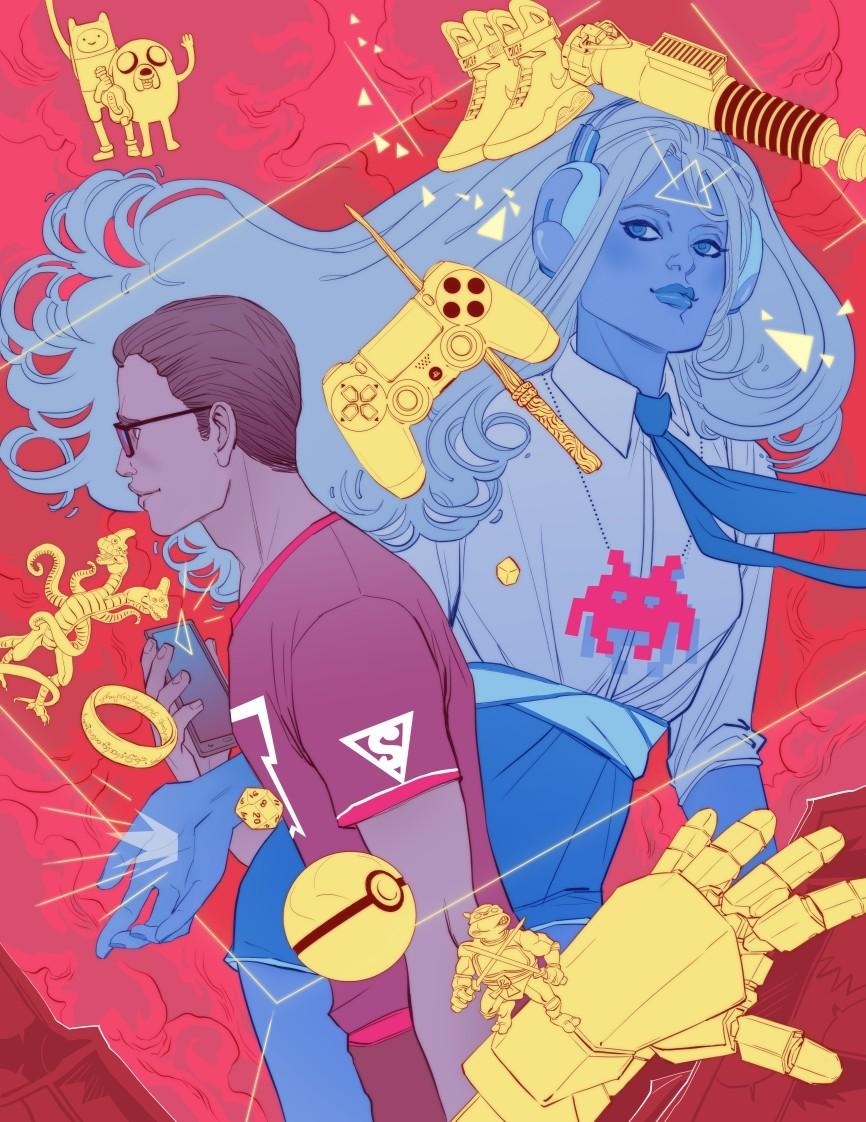 Geek Magazine Cover