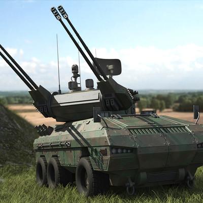 Piotr jedzinski anti aircraft armored car