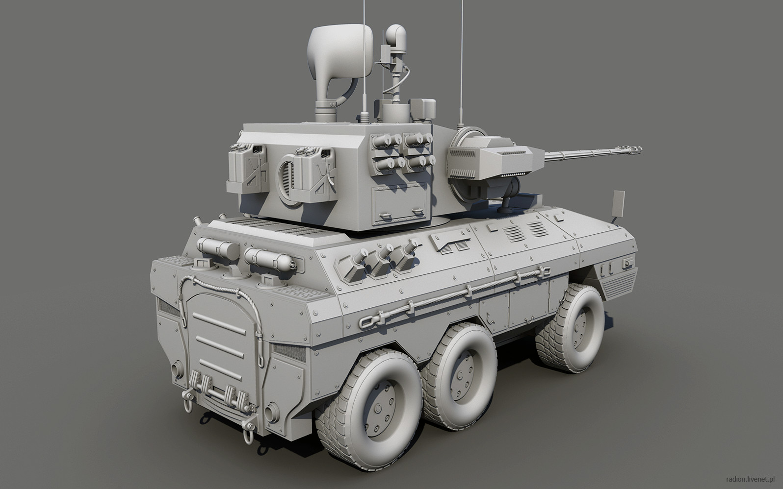 Just another military vehicle