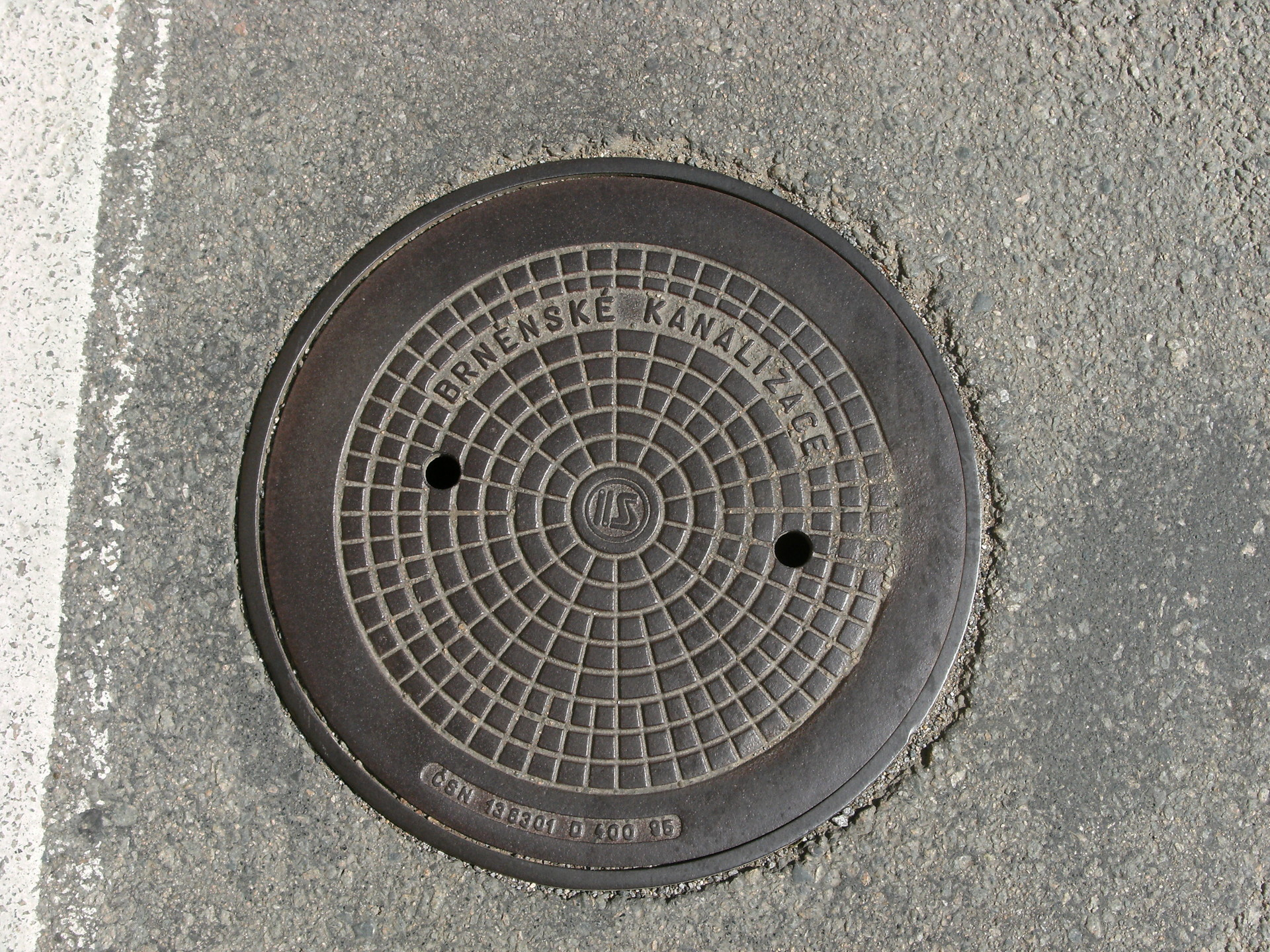 Danilo paulo manhole cover in krtiny