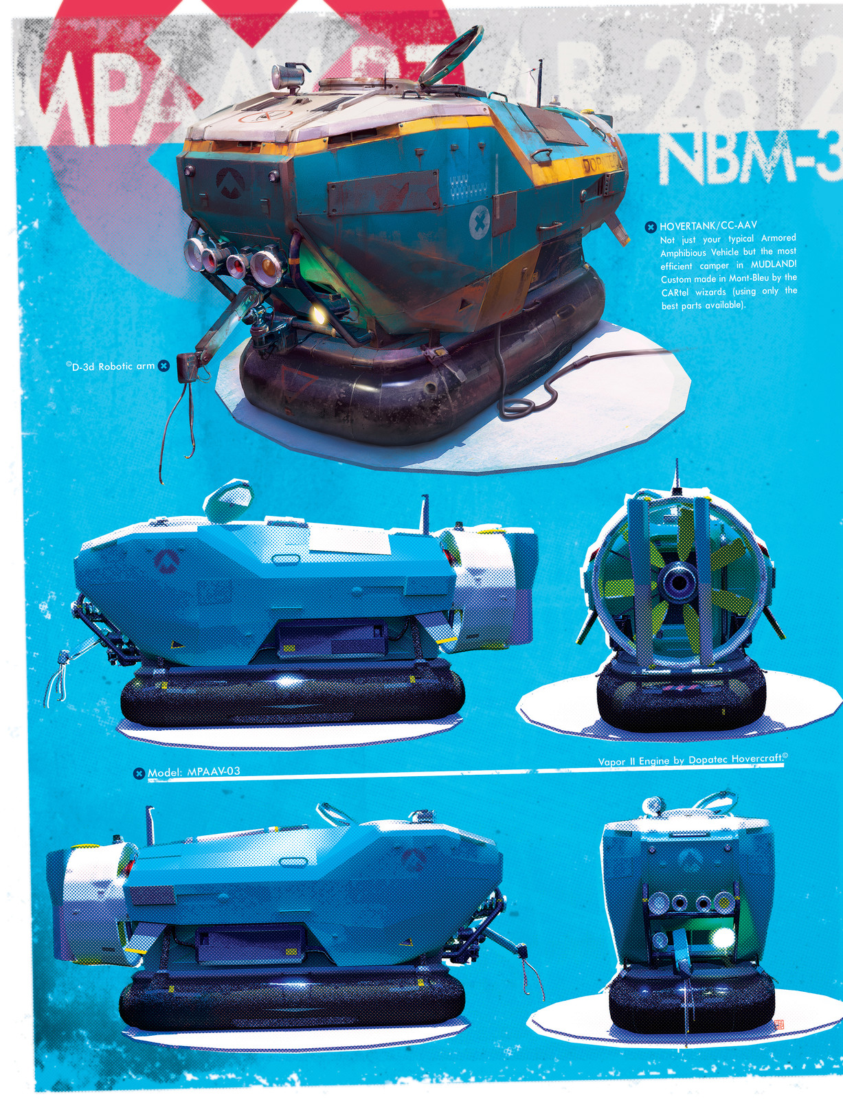 MUD_Hovercrafts