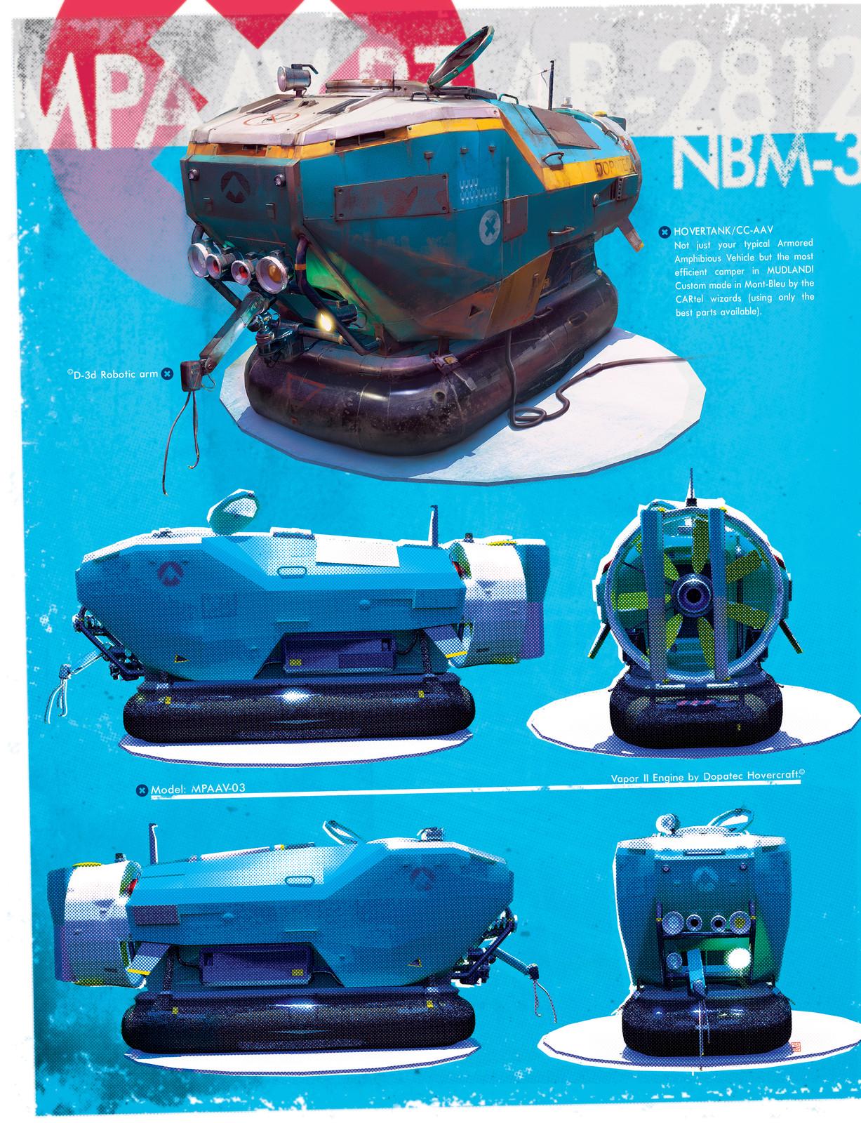 MUD_Hovercrafts