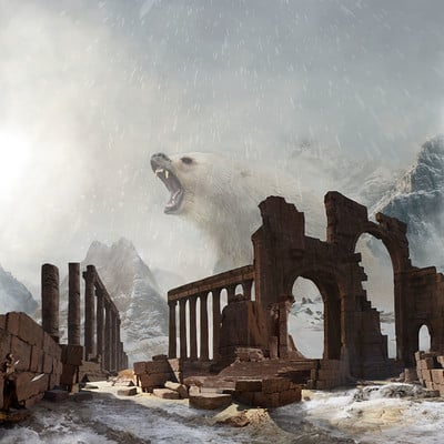 Jon yousef snowing ruins 3