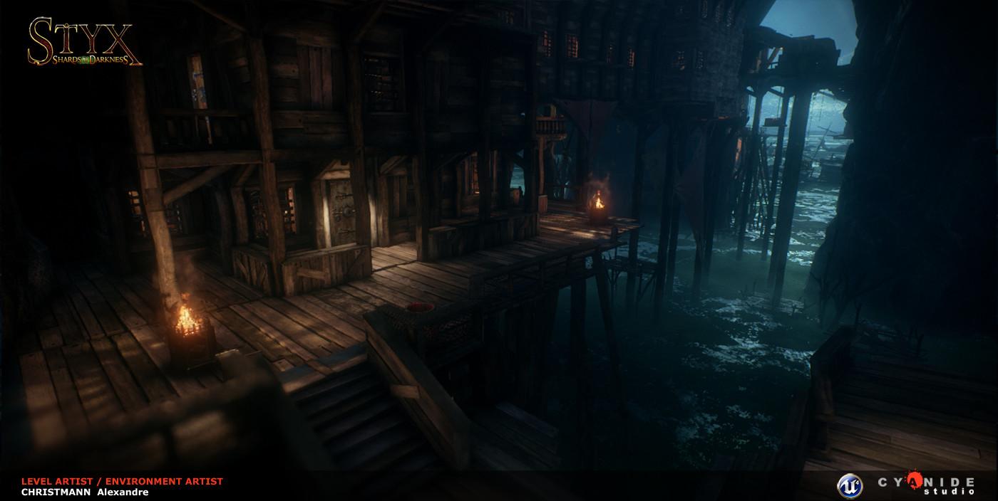 Artstation Styx Shards Of Darkness Environement Dwarf And
