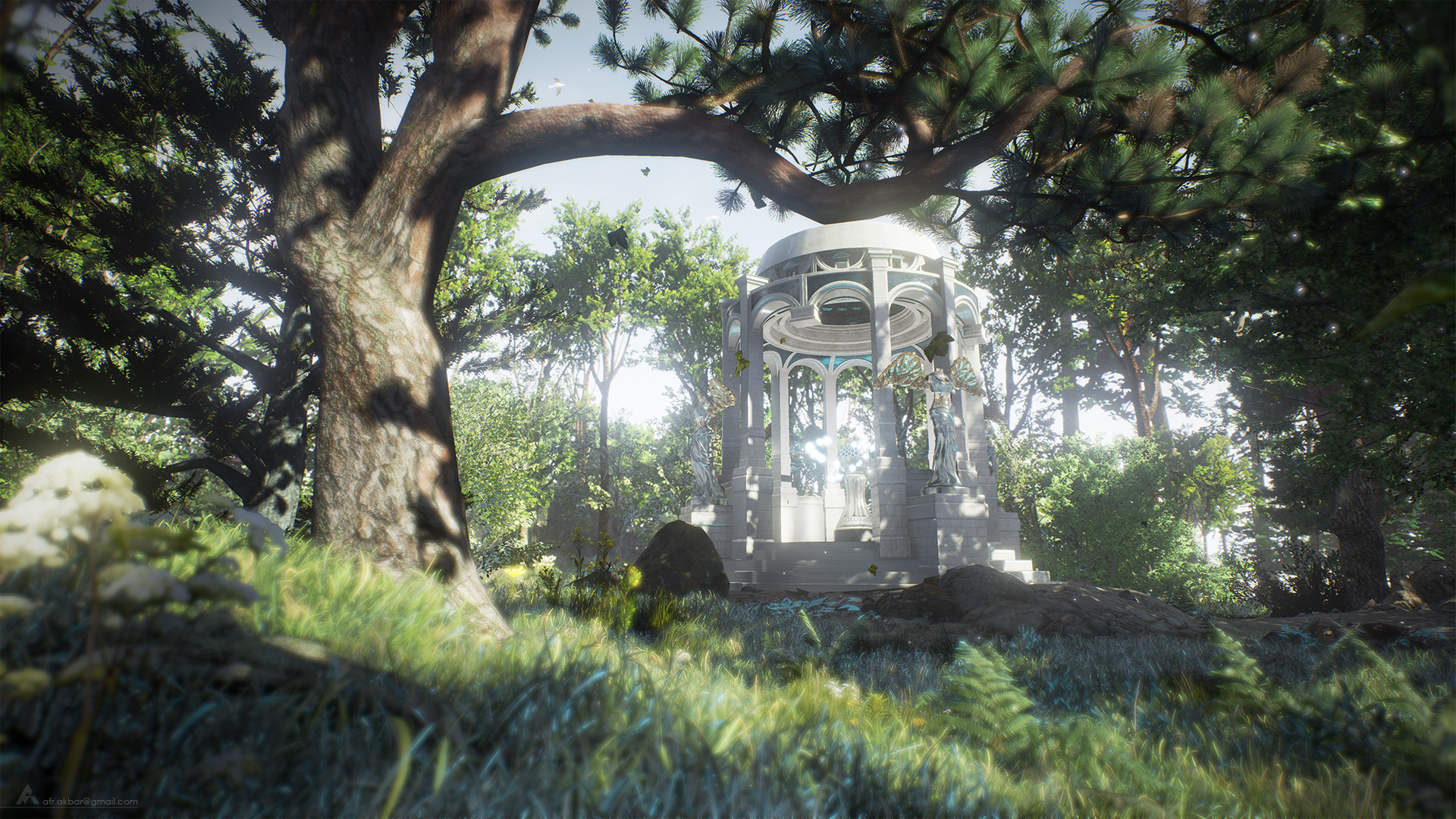 ArtStation - Unreal Engine 4, Realistic Rendering, Afr Akbar