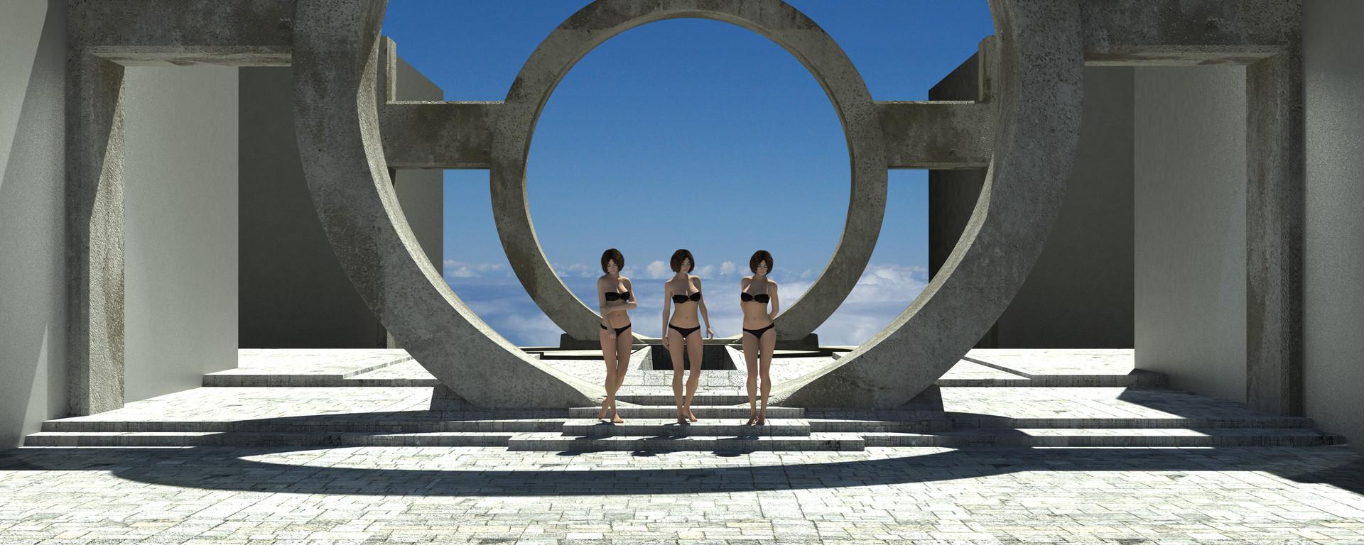 Jason cumbers chinese floating city photoshop begining