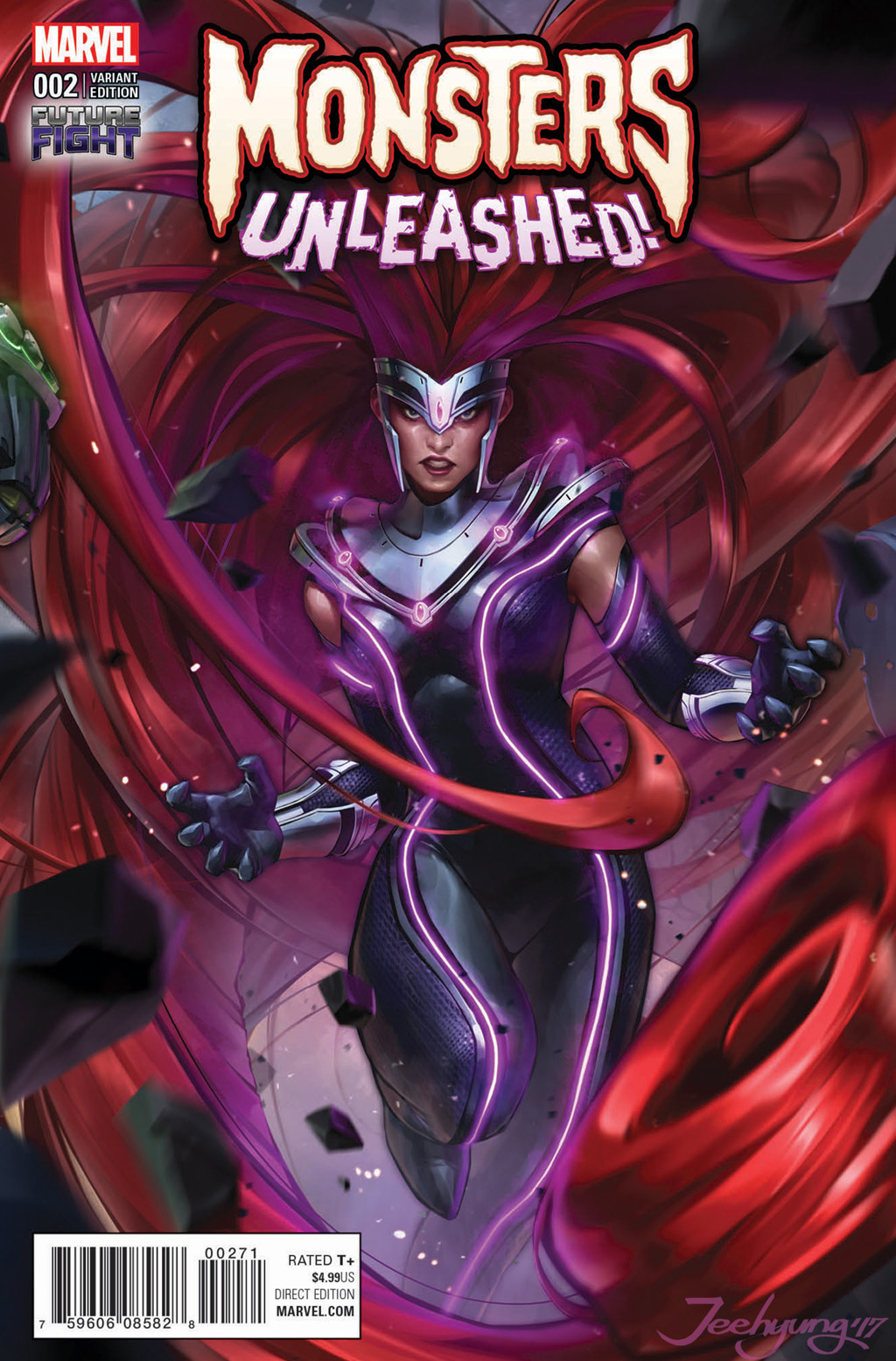 Jeehyung lee comic cover 02 medusa title name