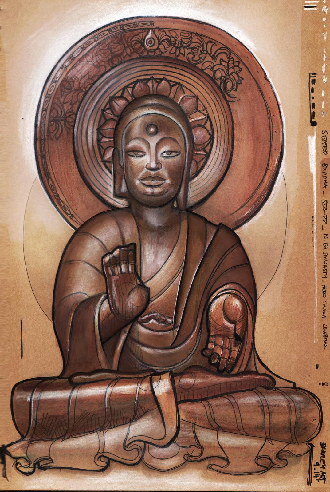 Bhudda Statue, British Museum