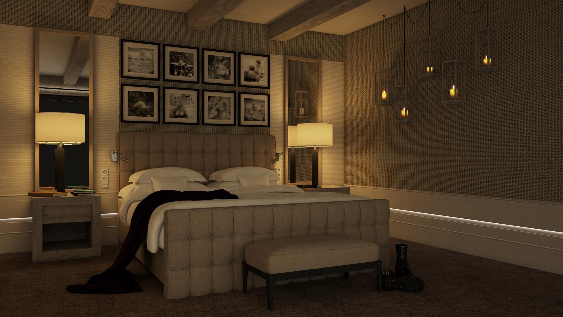 Pawel oleskow wizualizacja sypialnia 04