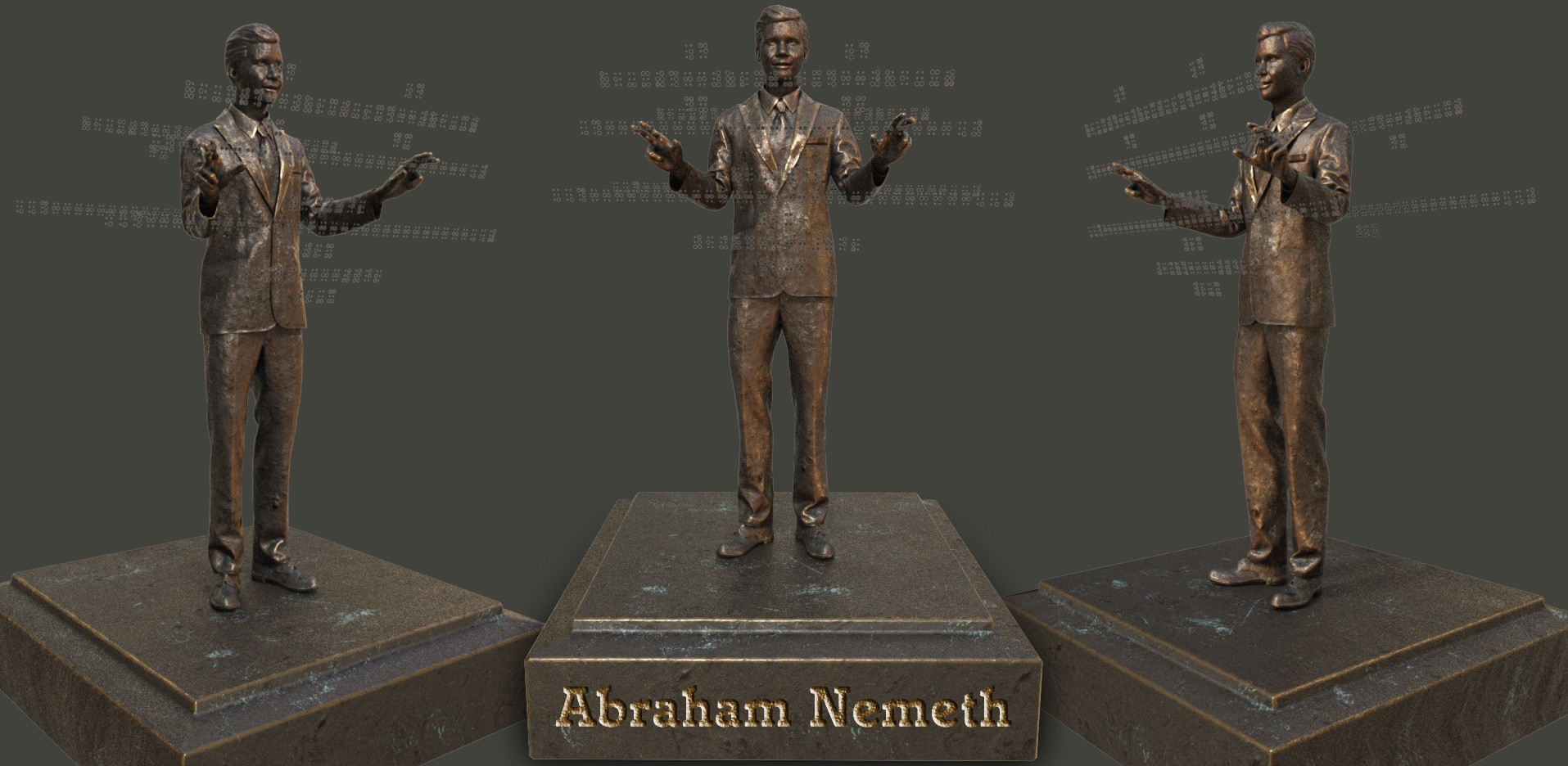 Abraham Nemeth, mathematician & creator of the Nemeth Braille Code for Mathematics.
