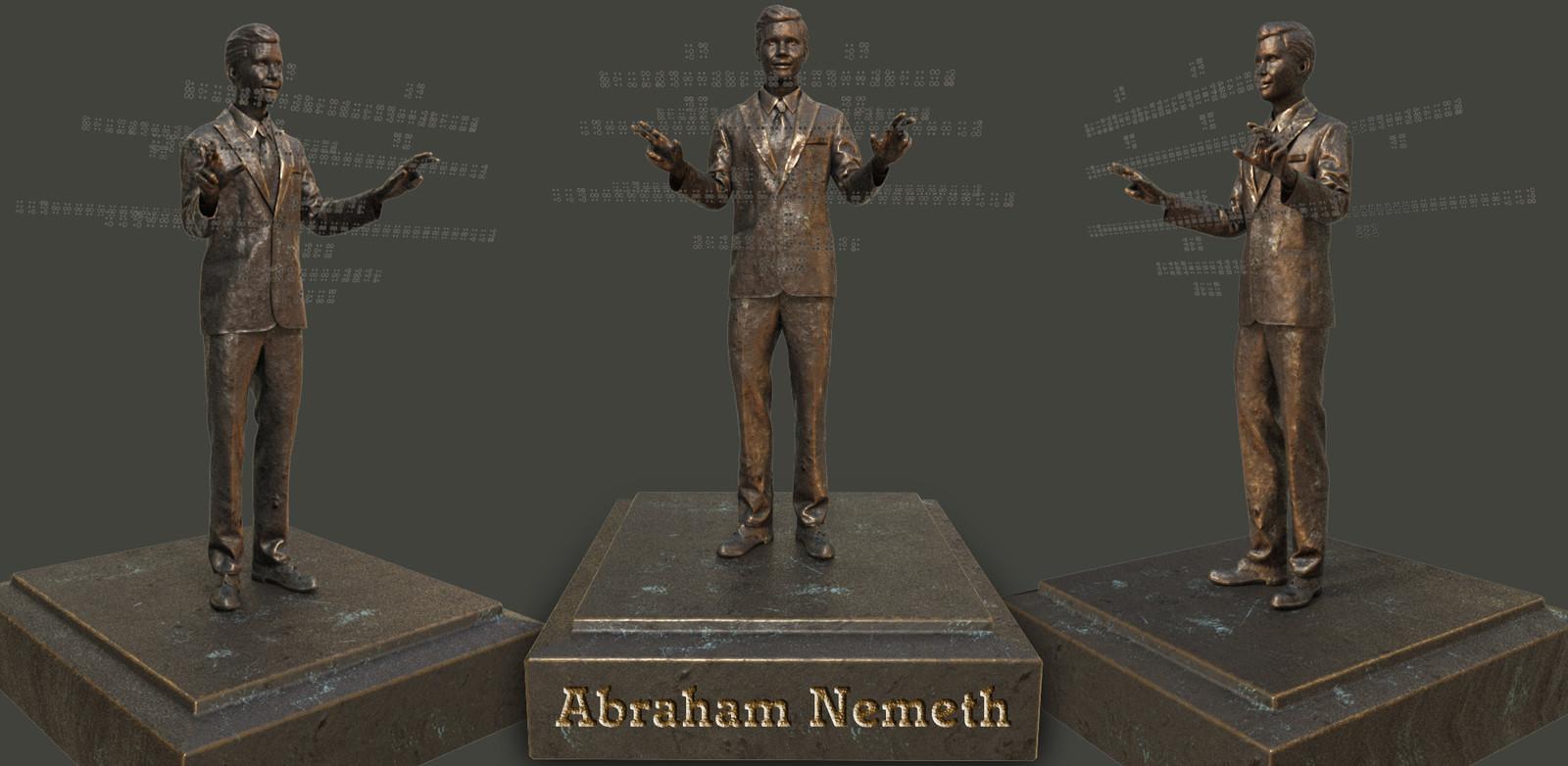 Abraham Nemeth, mathematician & creator of the Nemeth Braille Code for Mathematics.
