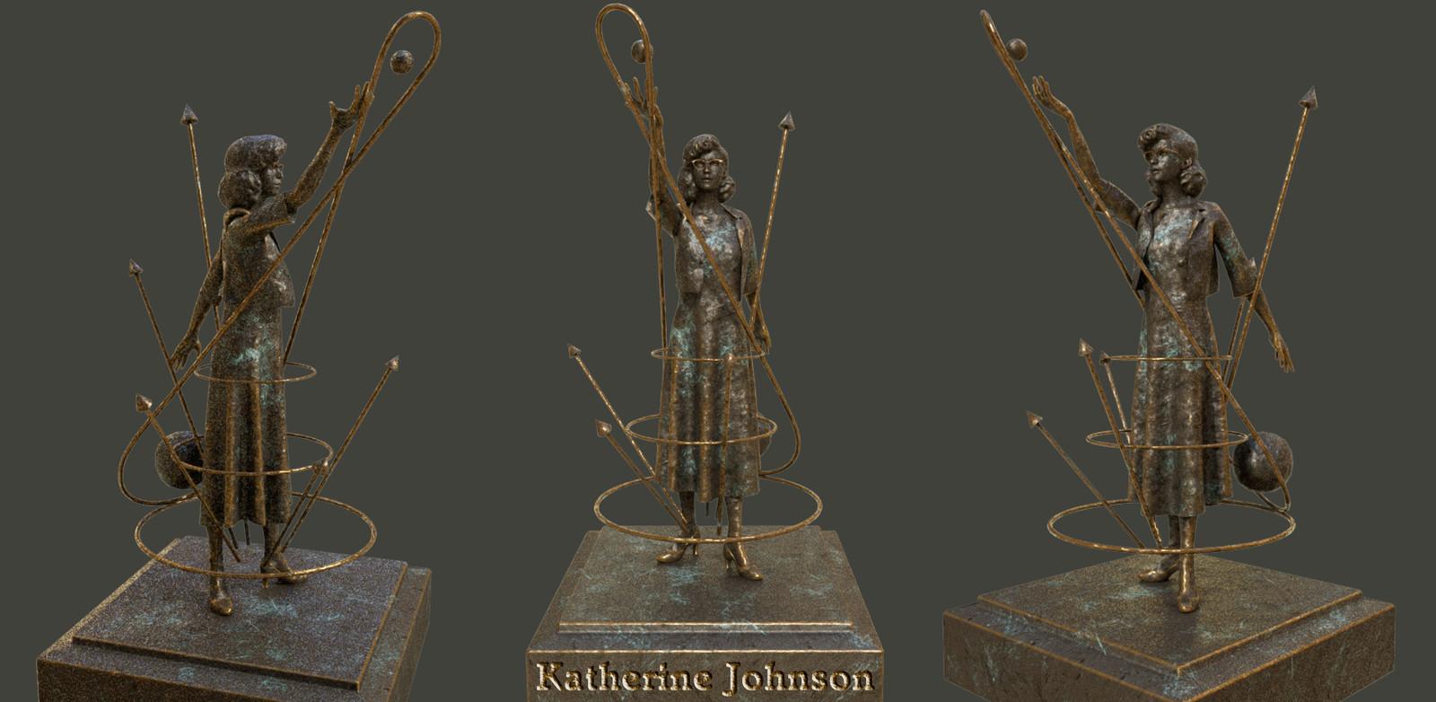 """Katherine Johnson, """"human computer"""" & physicist."""