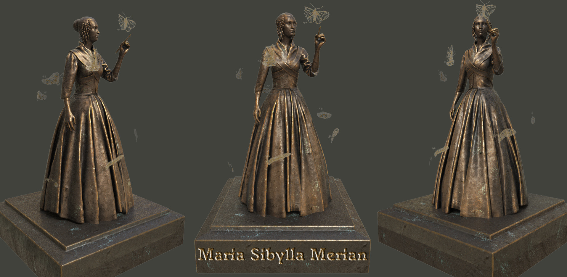 Maria Sibylla Merian, entomologist & scientific illustrator.