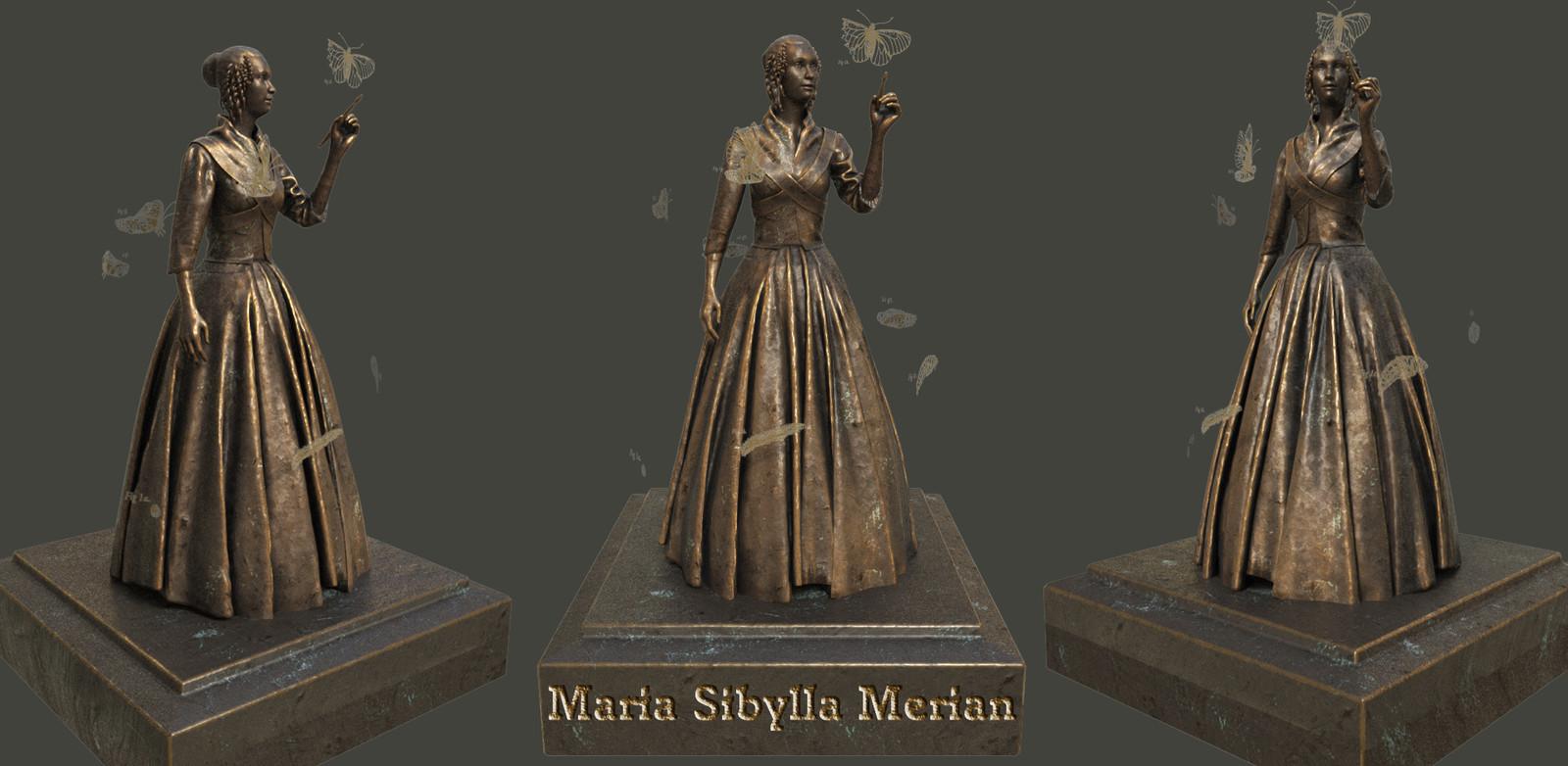 Maria Sibylla Merian, entomologist & scientific illustrator.