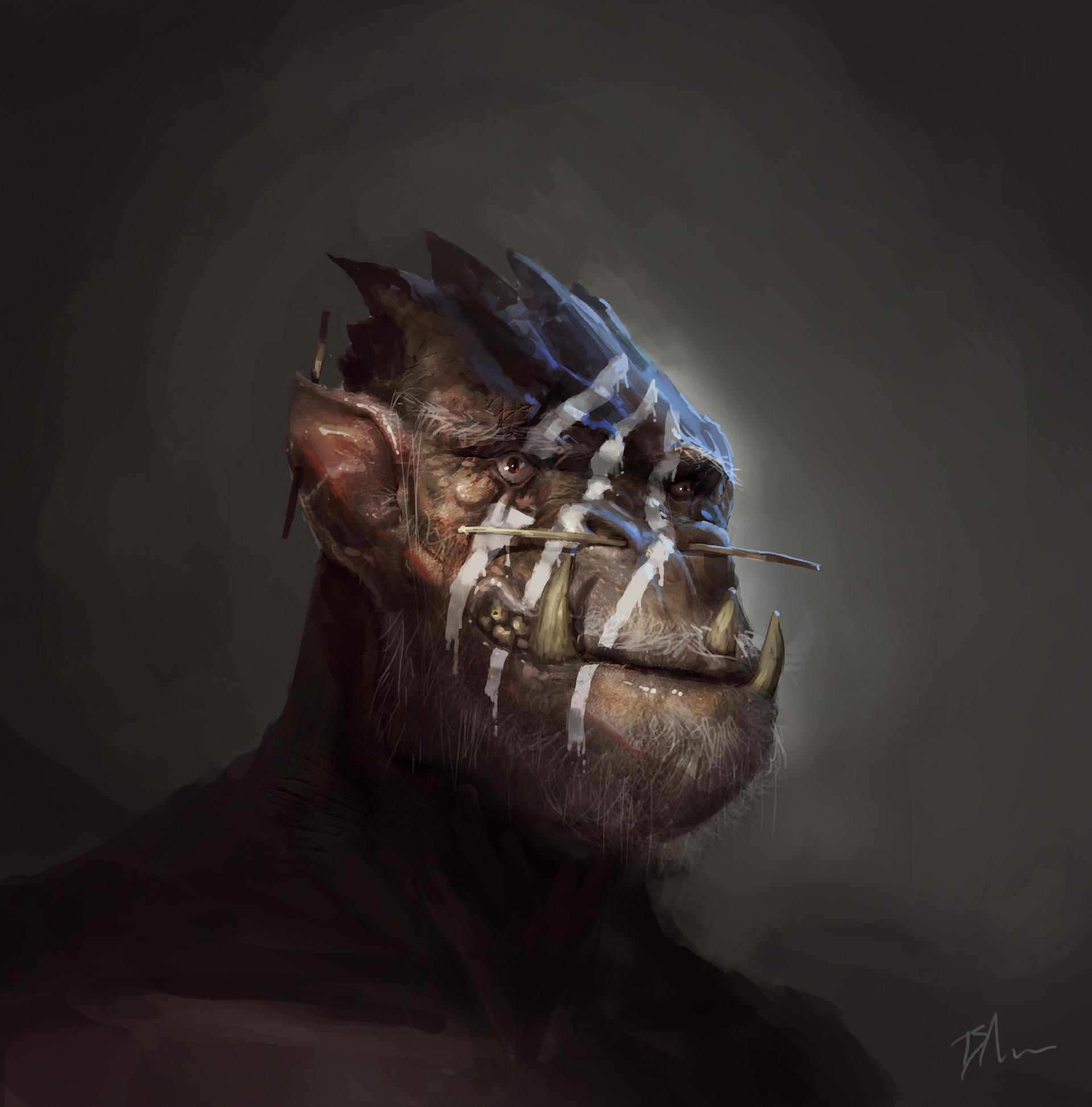 Brent minehan tribal orc
