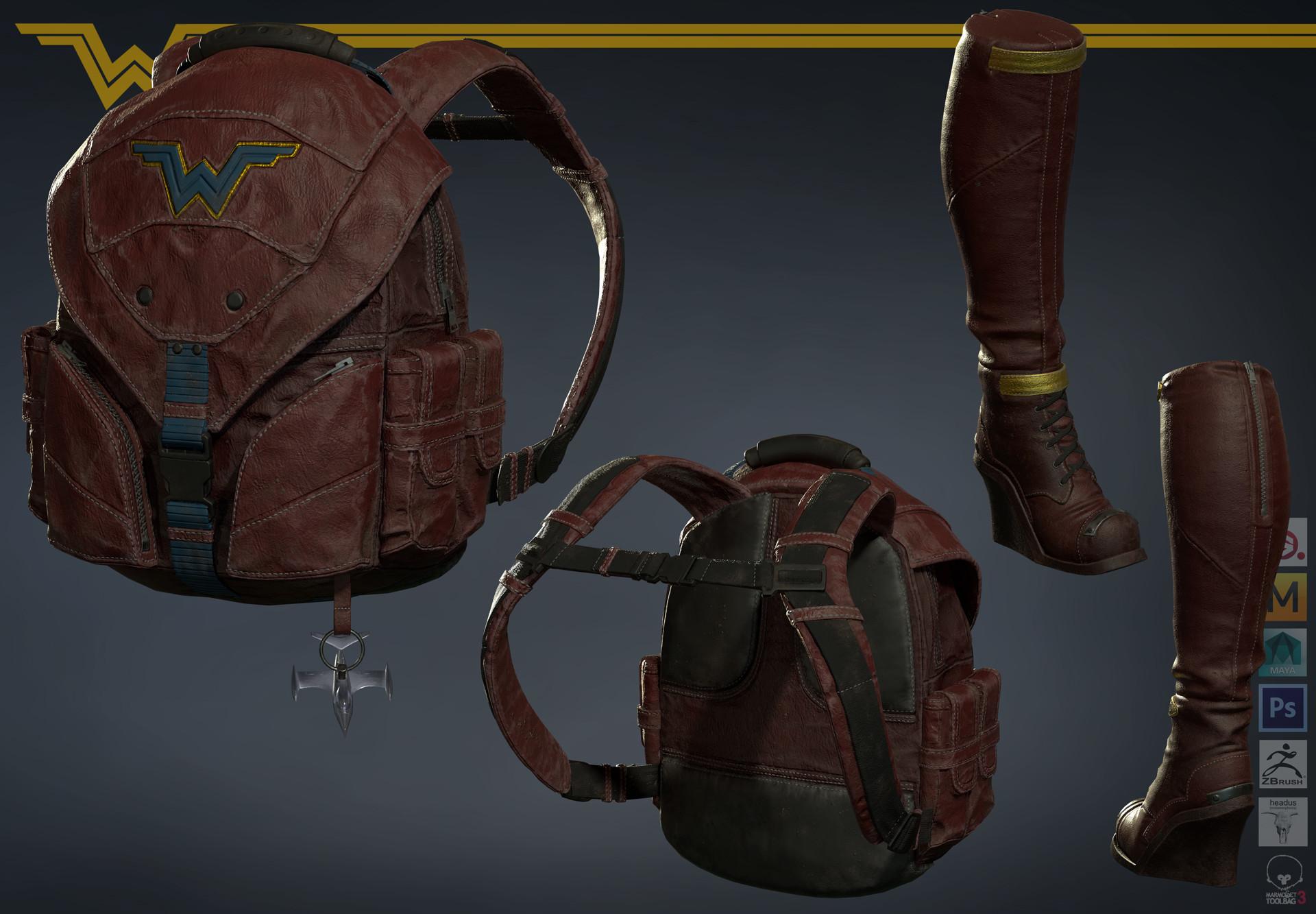 Satoshi arakawa backpack