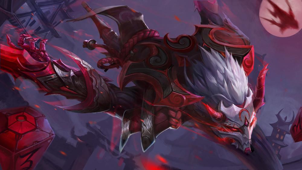 Your favorite fan skins leagueoflegends - Blood moon zed ...