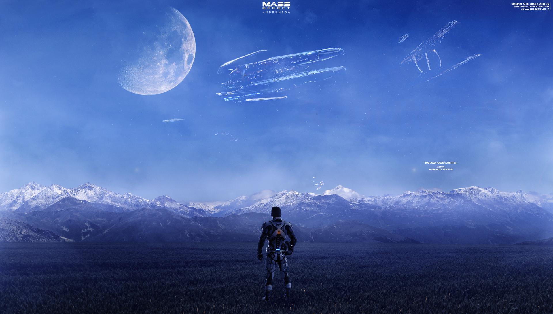 Artstation Beginning Of Our Dream Mass Effect Andromeda 4k