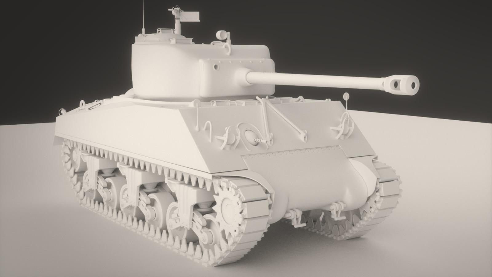M4A3 Sherman (MidPoly)