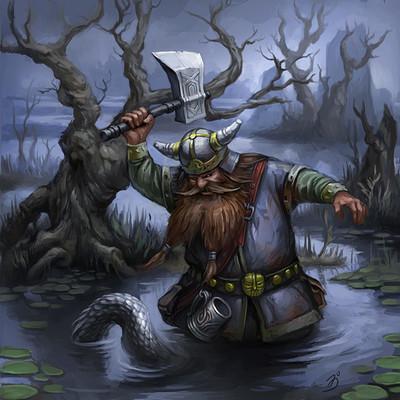 Anna ignatieva dwarf adventurer