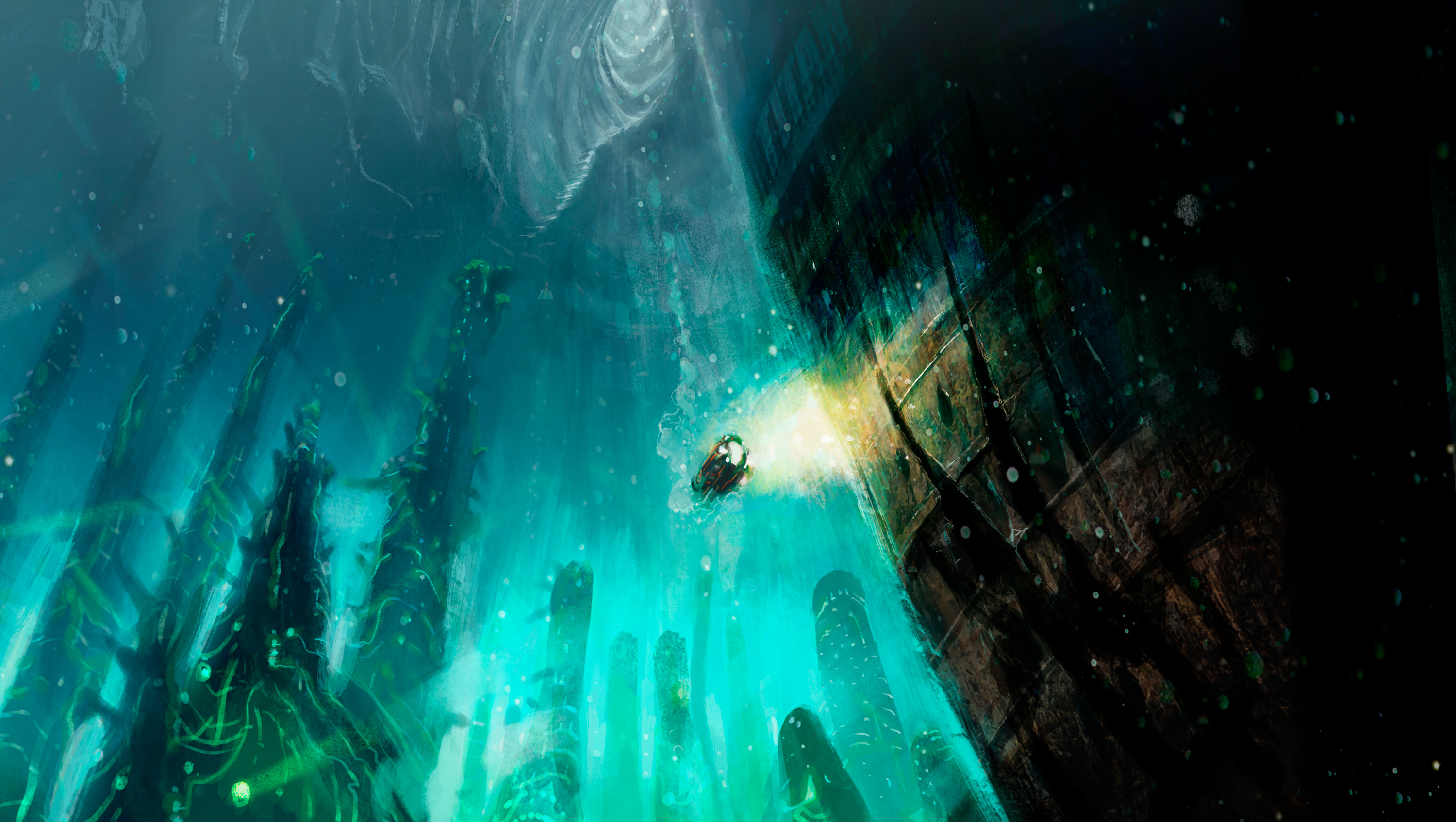 Kfr 03: The lost city submerged.