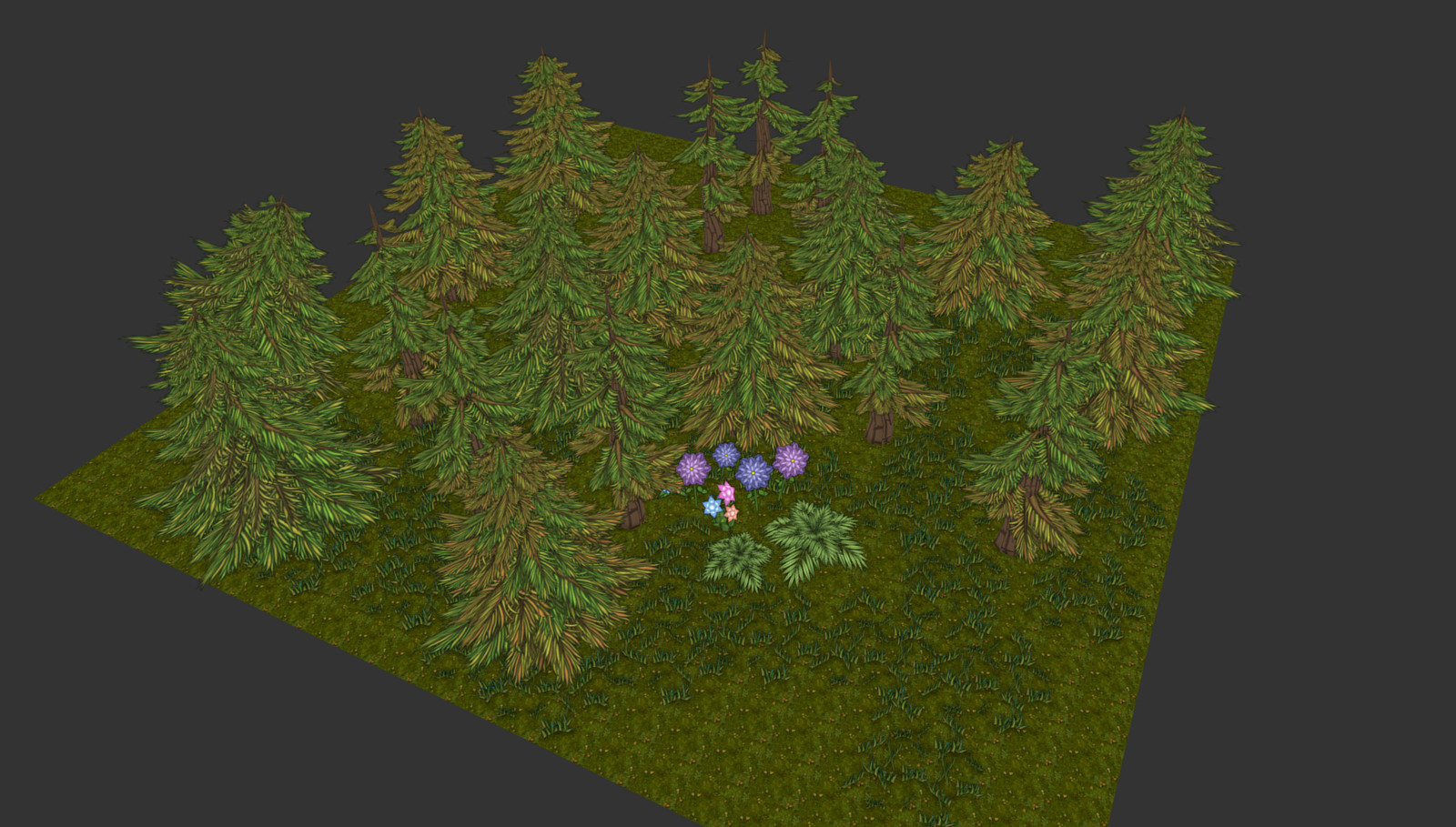 3rd pass on trees, also 3 variations now.