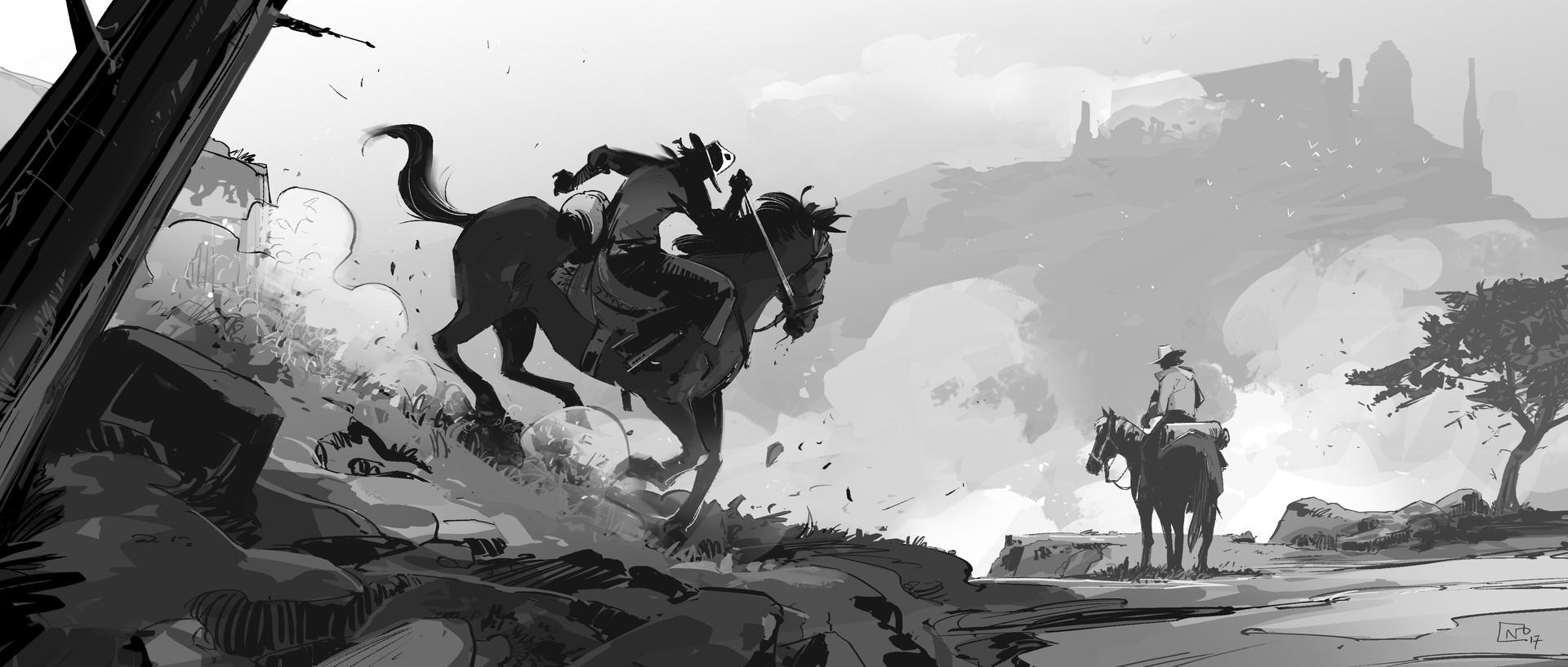 Nicolas petrimaux horsemen