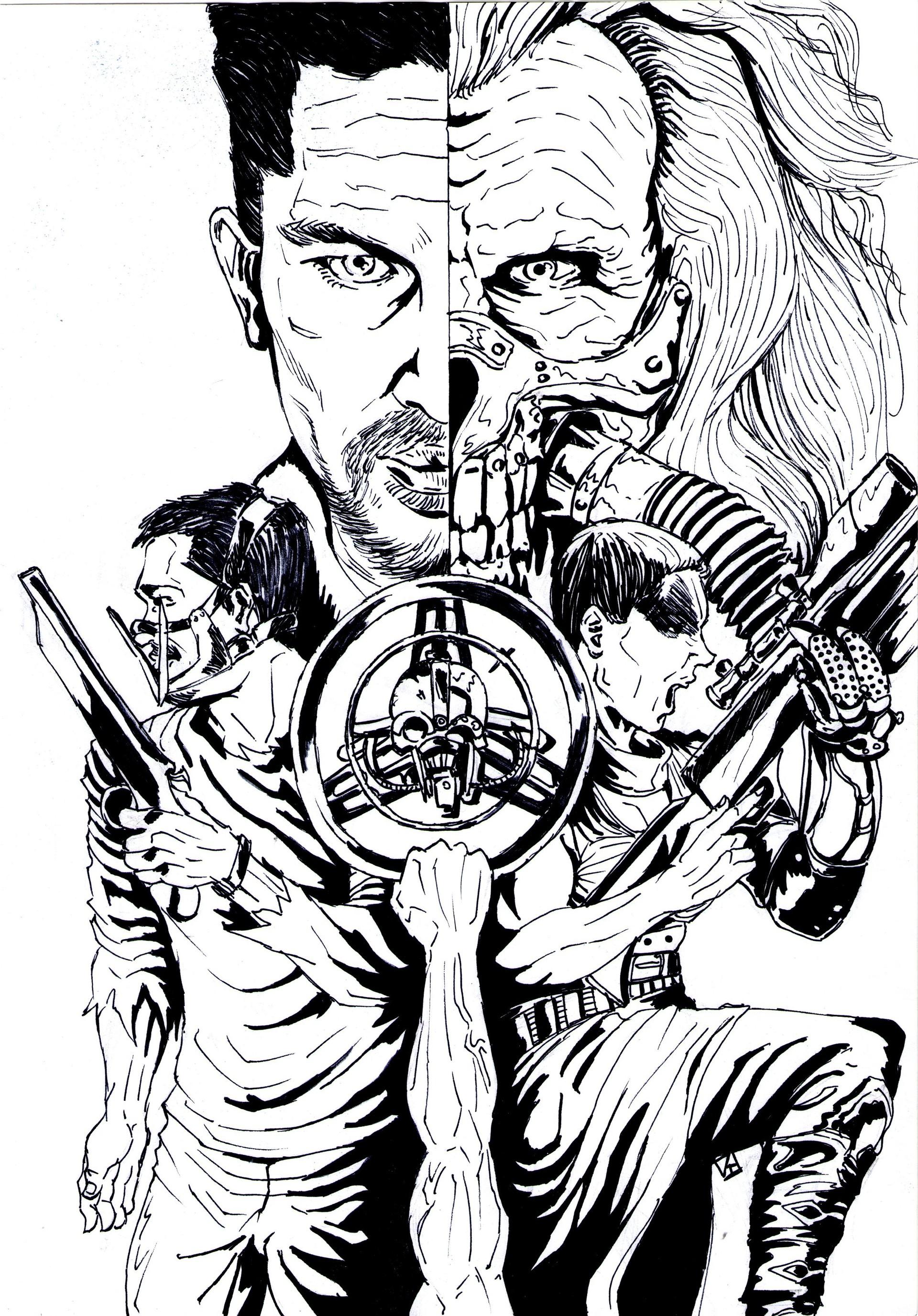 Mad Max Fury Road   Sketch