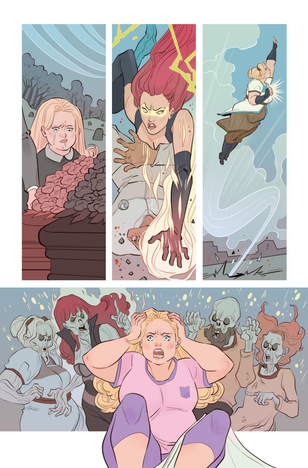 Faith #8 page - Faith's fantasy