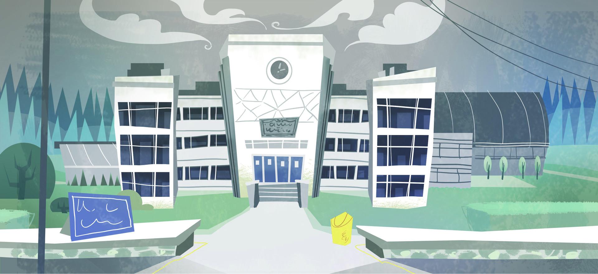 Marguerite sauvage school exterior 1