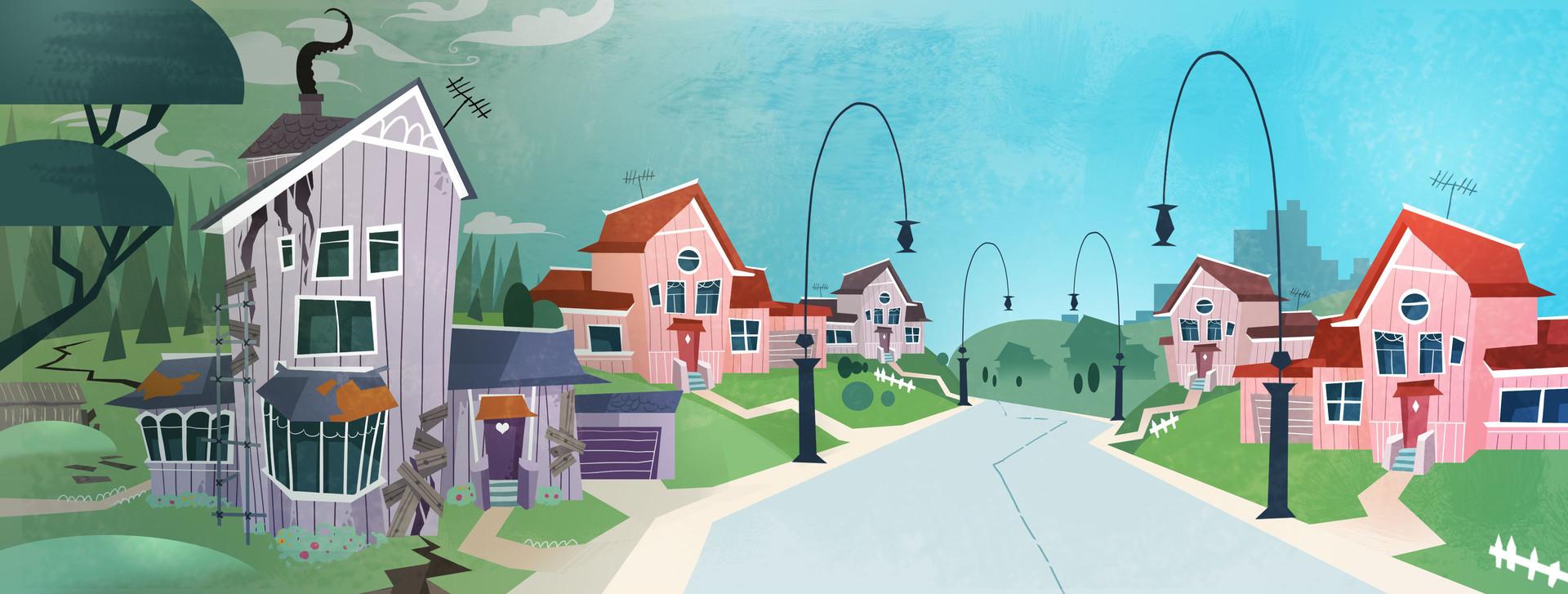Marguerite sauvage house suburb 1