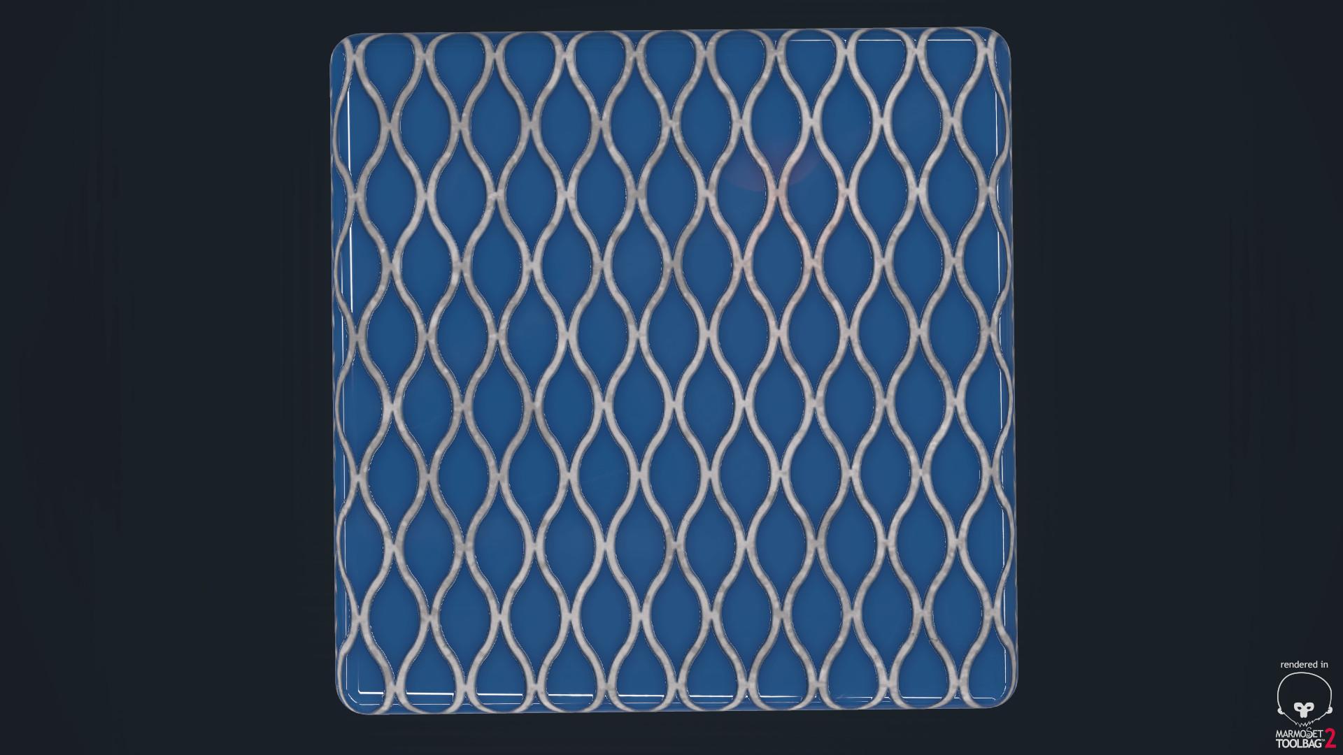Ole midthun blue tiles 2