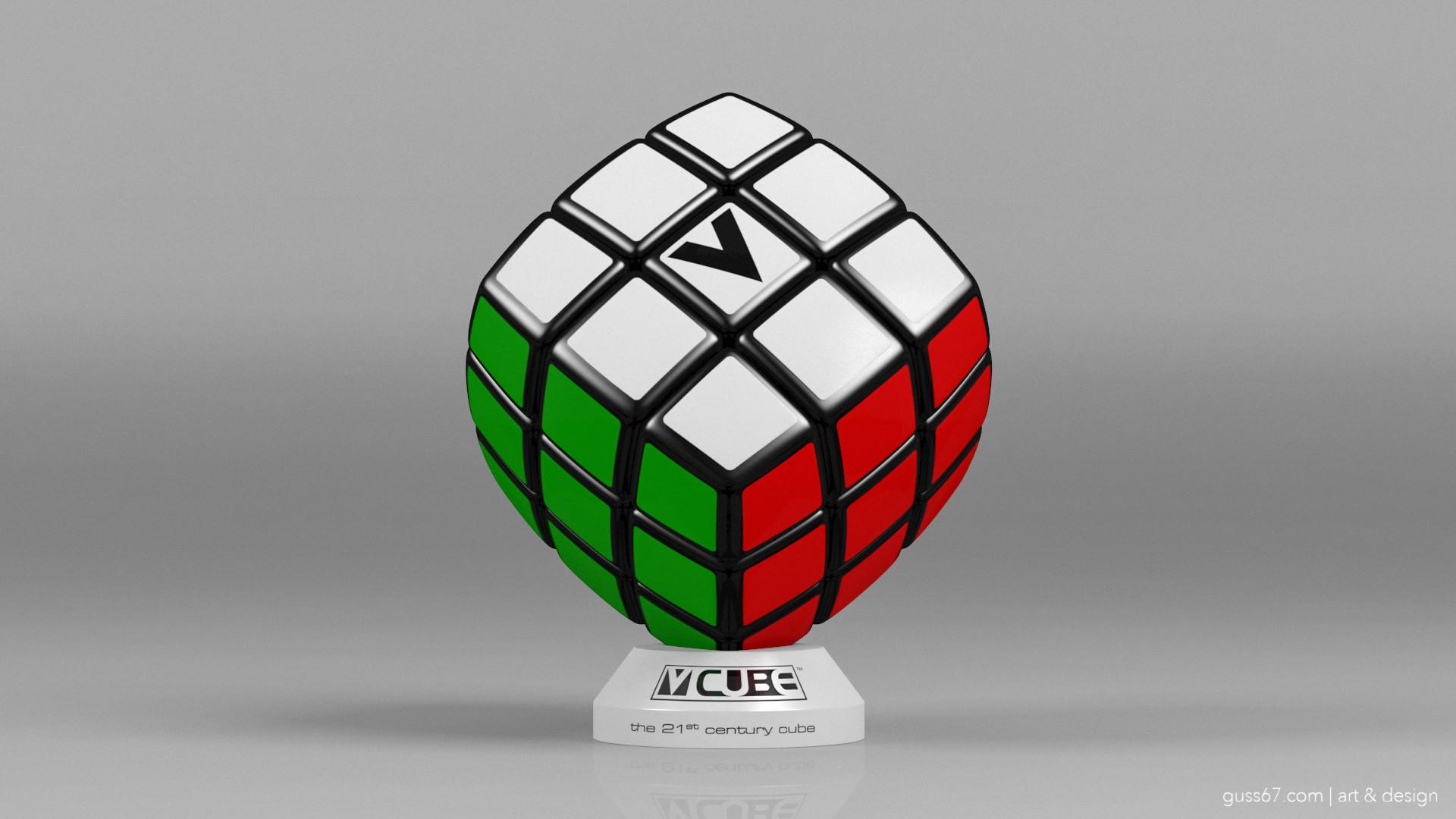 V Cube artstation v cube 3 the speedcubers cube guss theodoridis