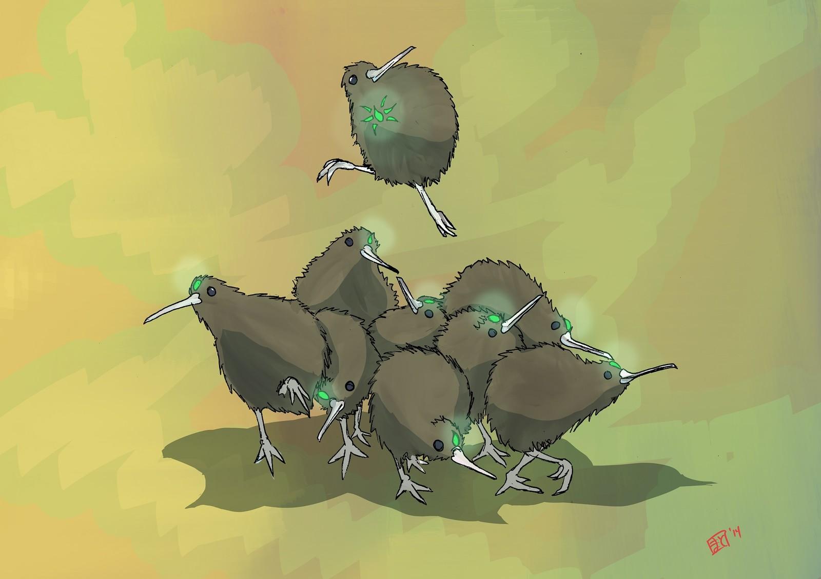 Magial Birds