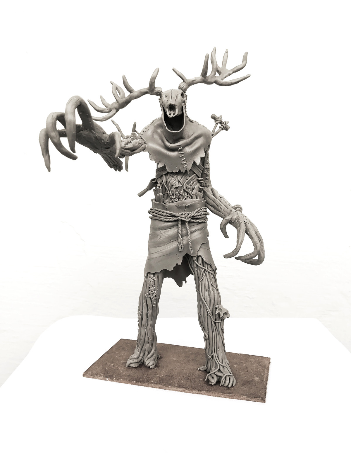 Witcher 3 Leshen - Fanart Sculpt