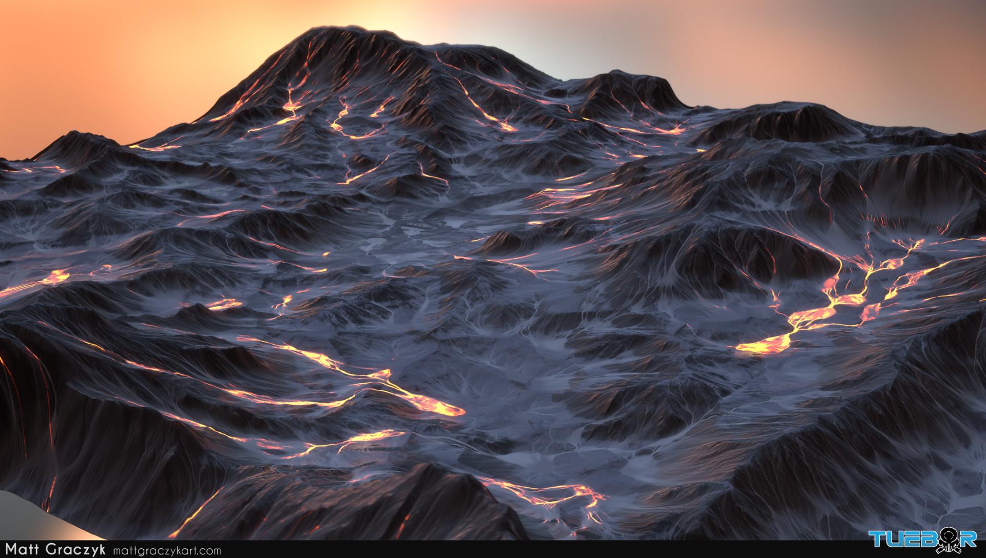 Matt graczyk tuebor lavaflow terrain 1