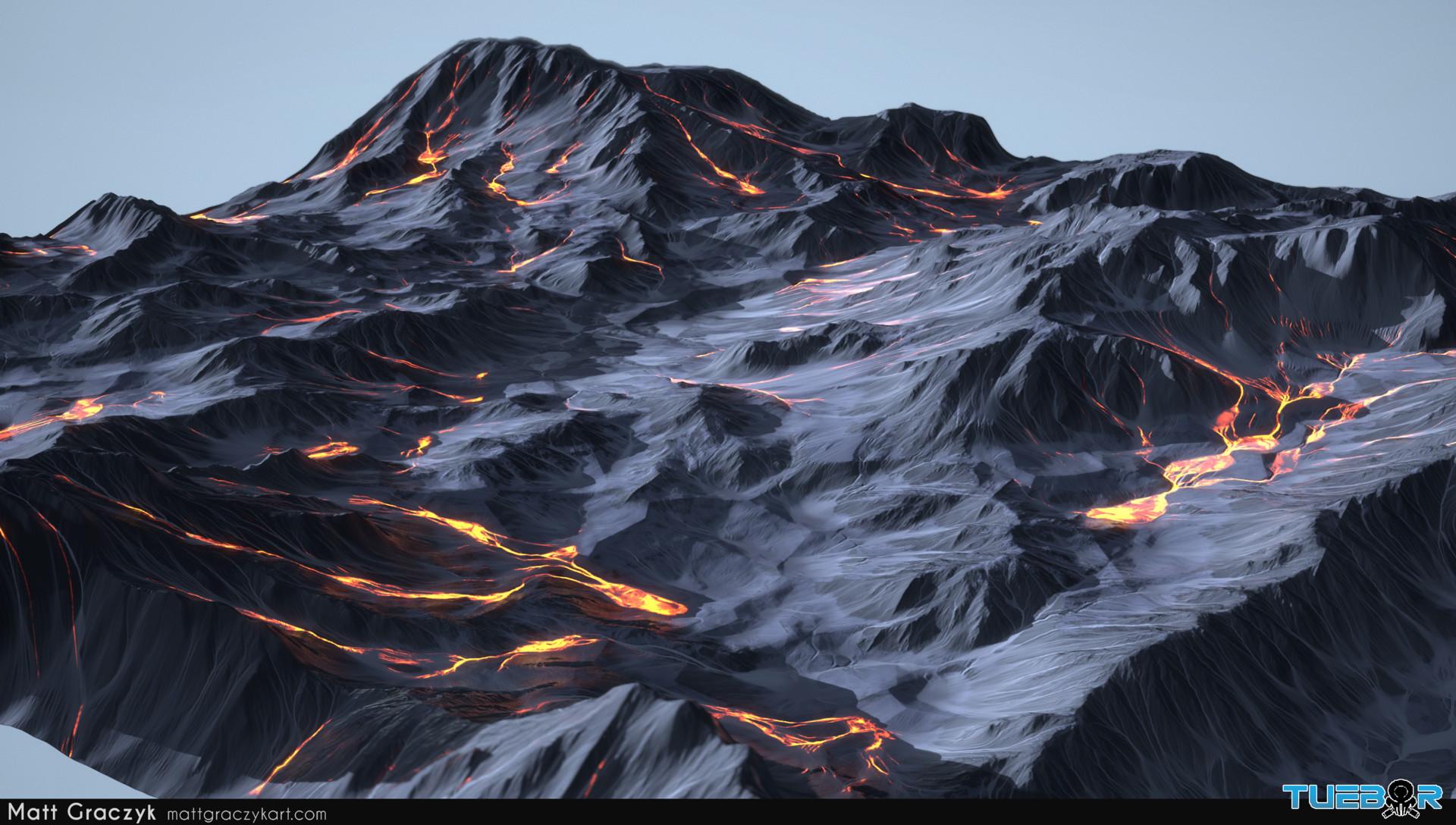 Matt graczyk tuebor lavaflow terrain 1b