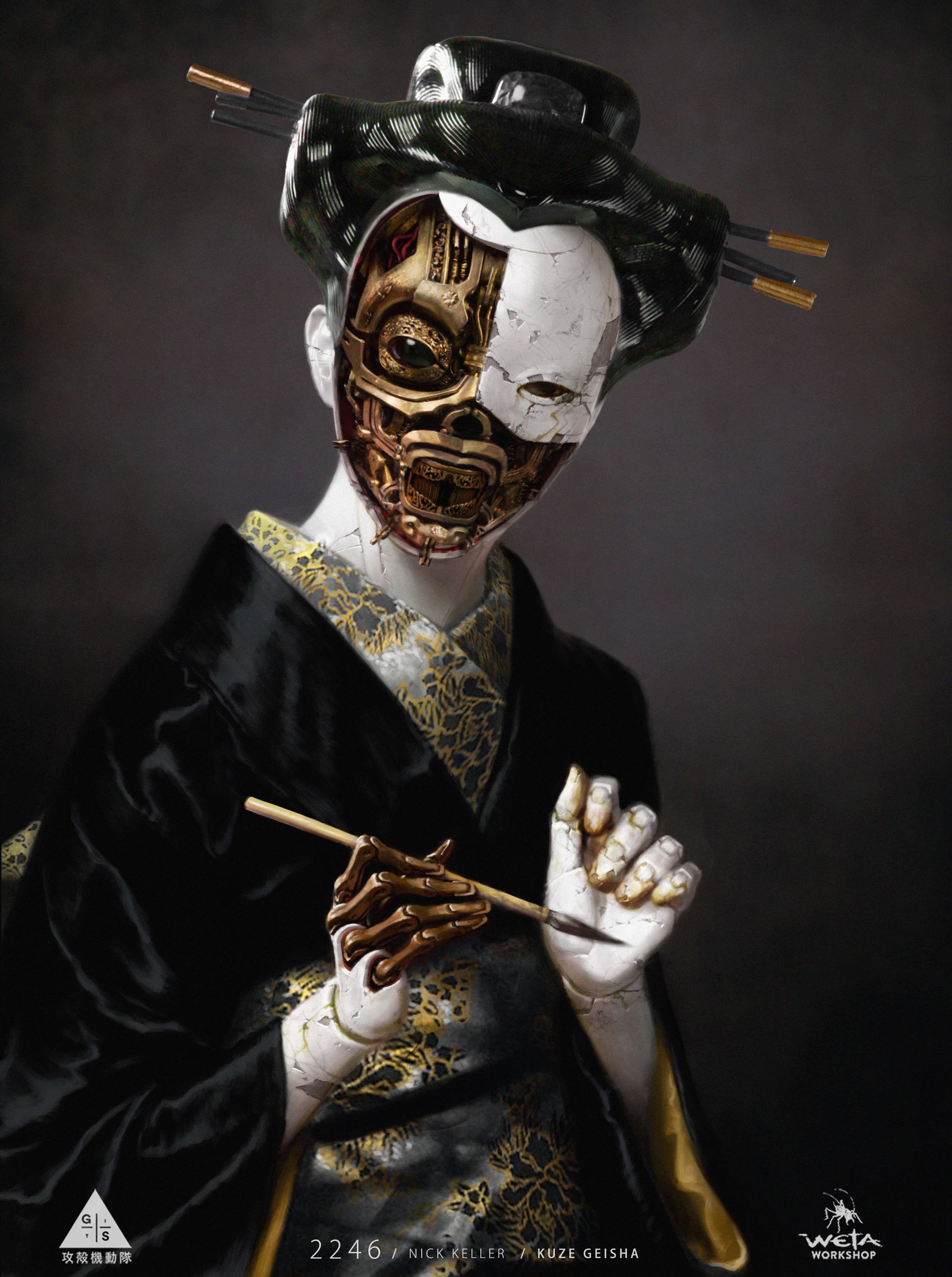 Open Geisha Design - Artist: Nick Keller