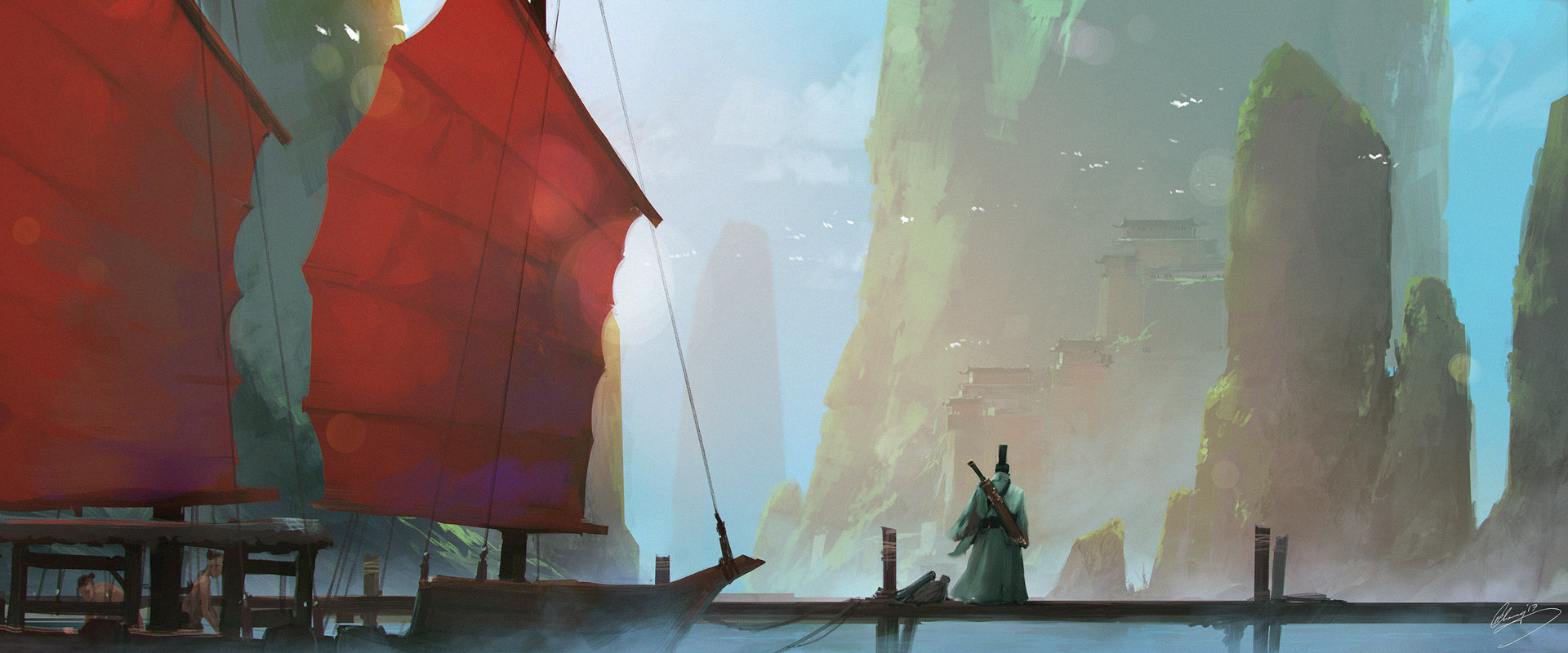 Lap pun cheung ancient civilizations keyframe 1 arrival by junk ship online