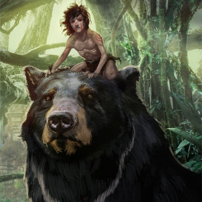 Karl lindberg baloo and mowgli