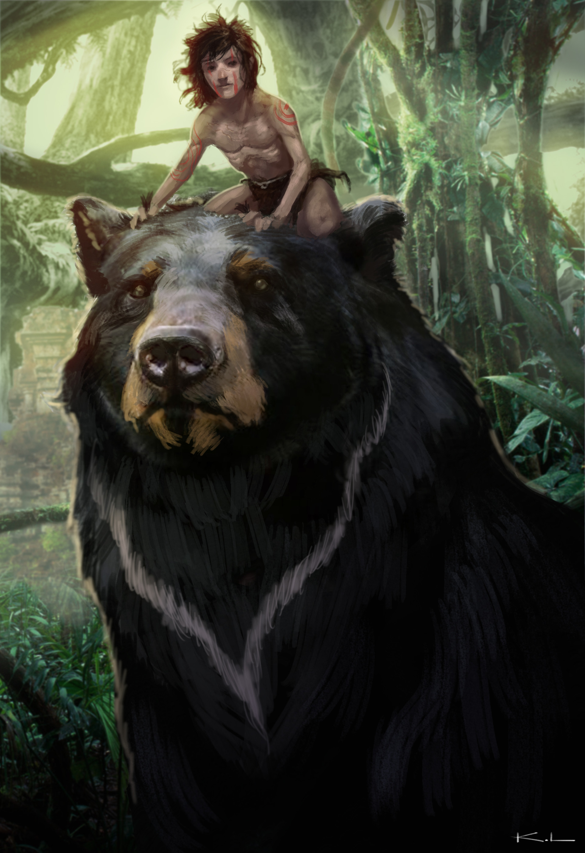 Karl lindberg baloo and mowgli