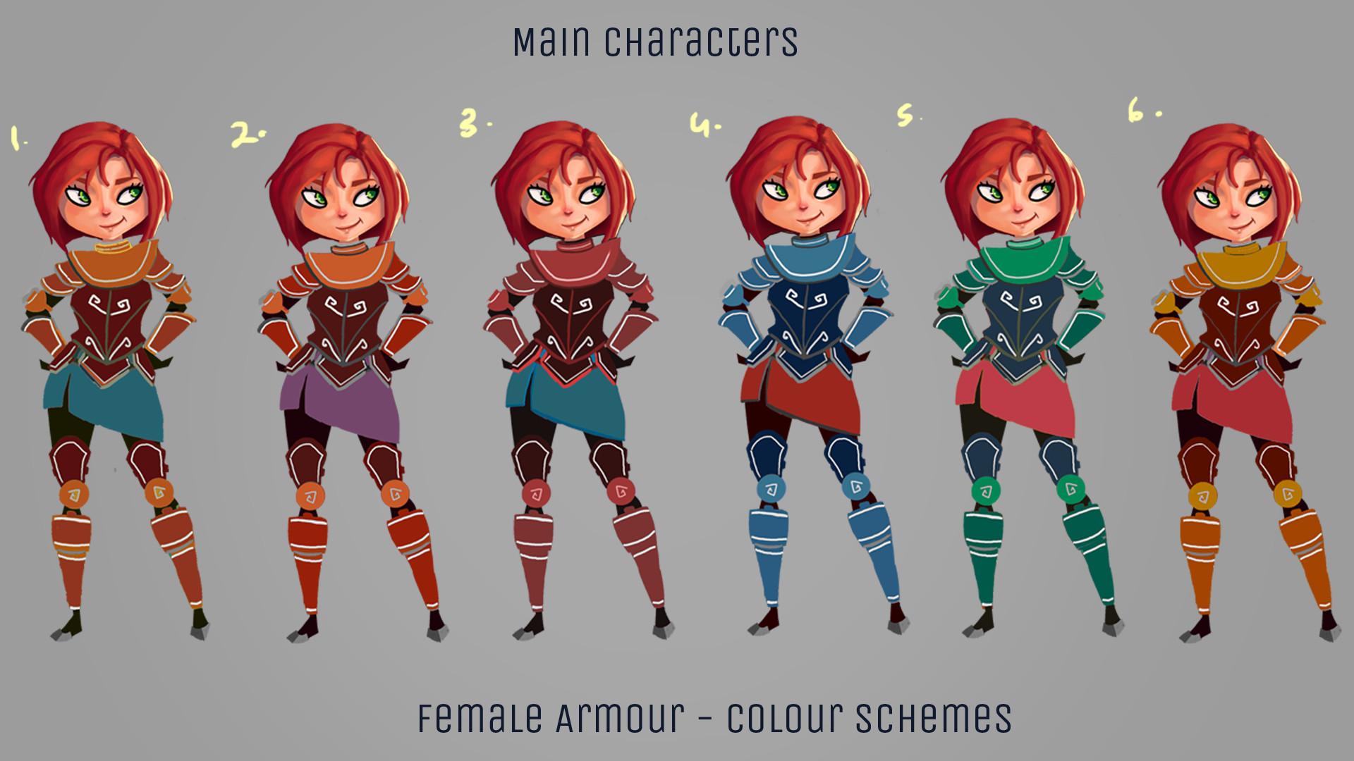 Artstation This Game Of Mine Main Characters Inosha Dhingra