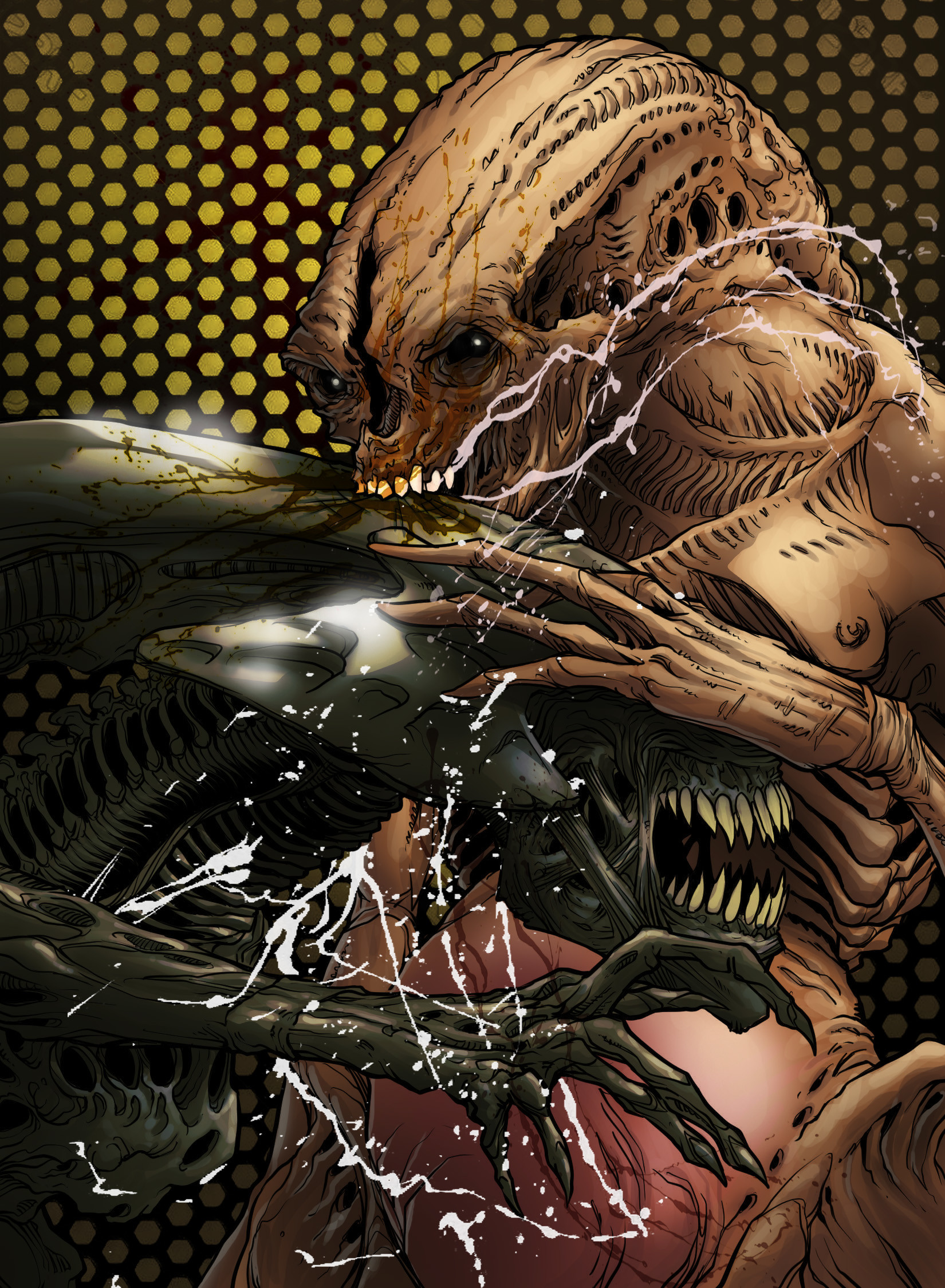 ArtStation - Aliens, Kevin Enhart