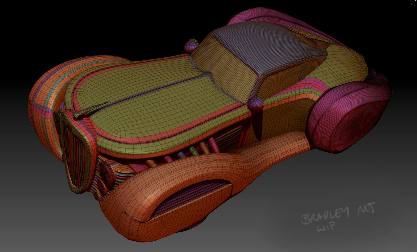 Cleaned up topology